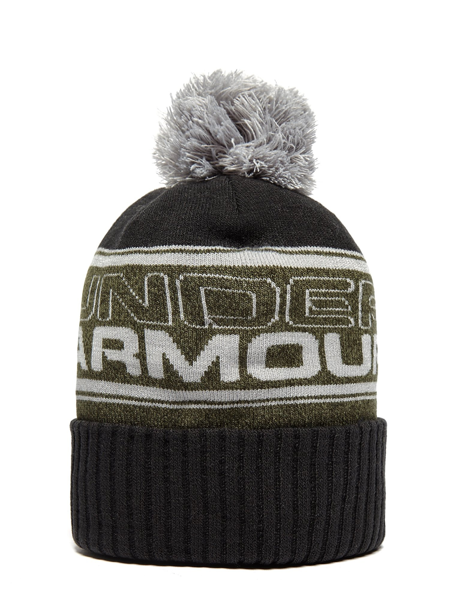 Under Armour Retro Beanie-Mütze mit Bommel