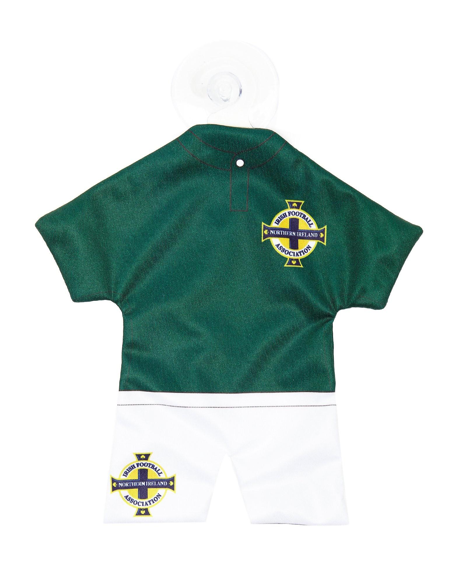 Official Team Northern Ireland Home Kit Car Hanger
