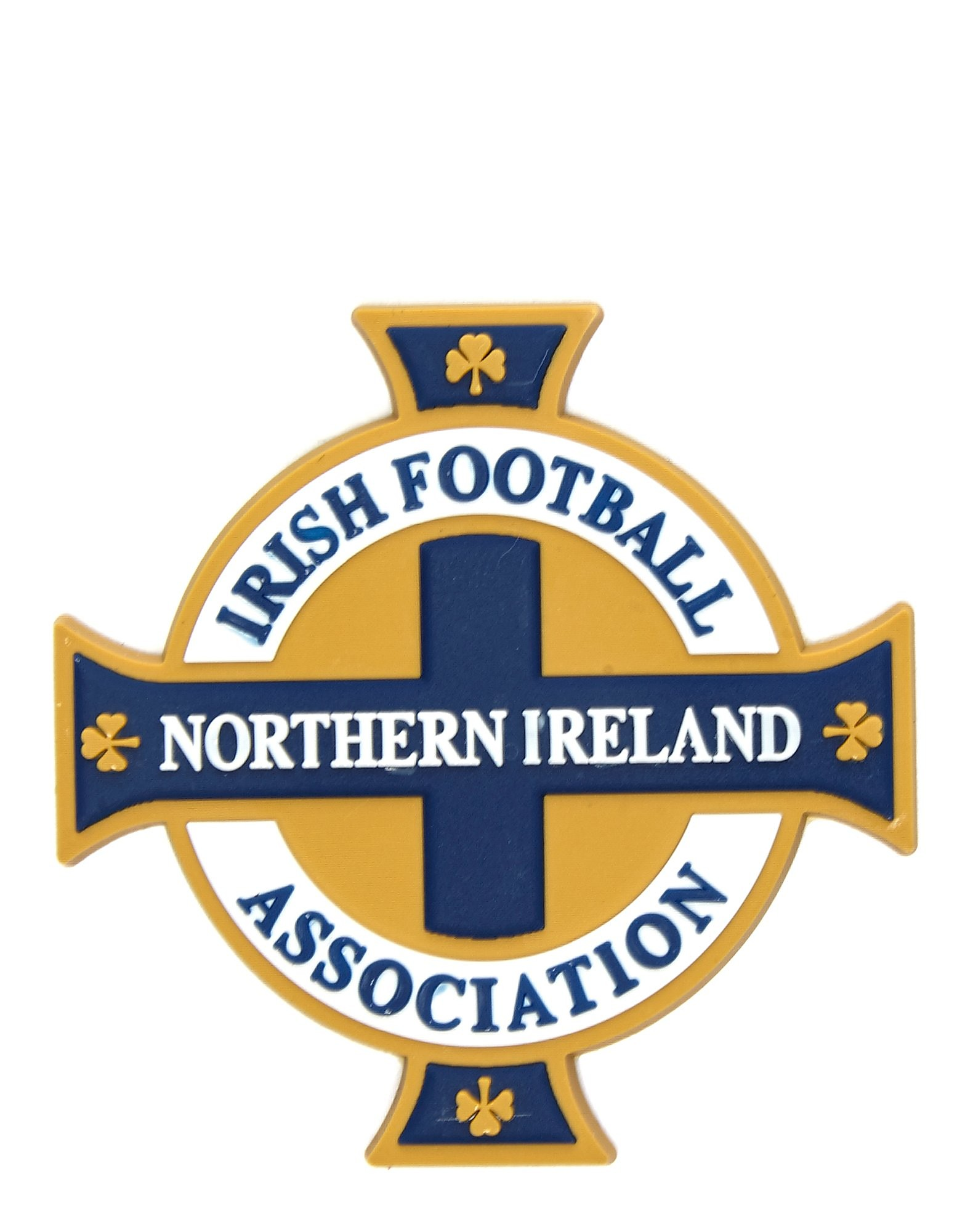 Official Team Nordirland 3D Magnet mit Wappen
