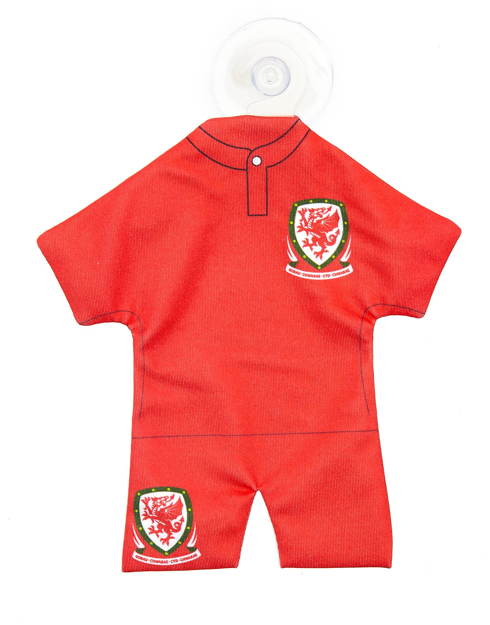 Official Team Wales-autohanger - Rood - Heren