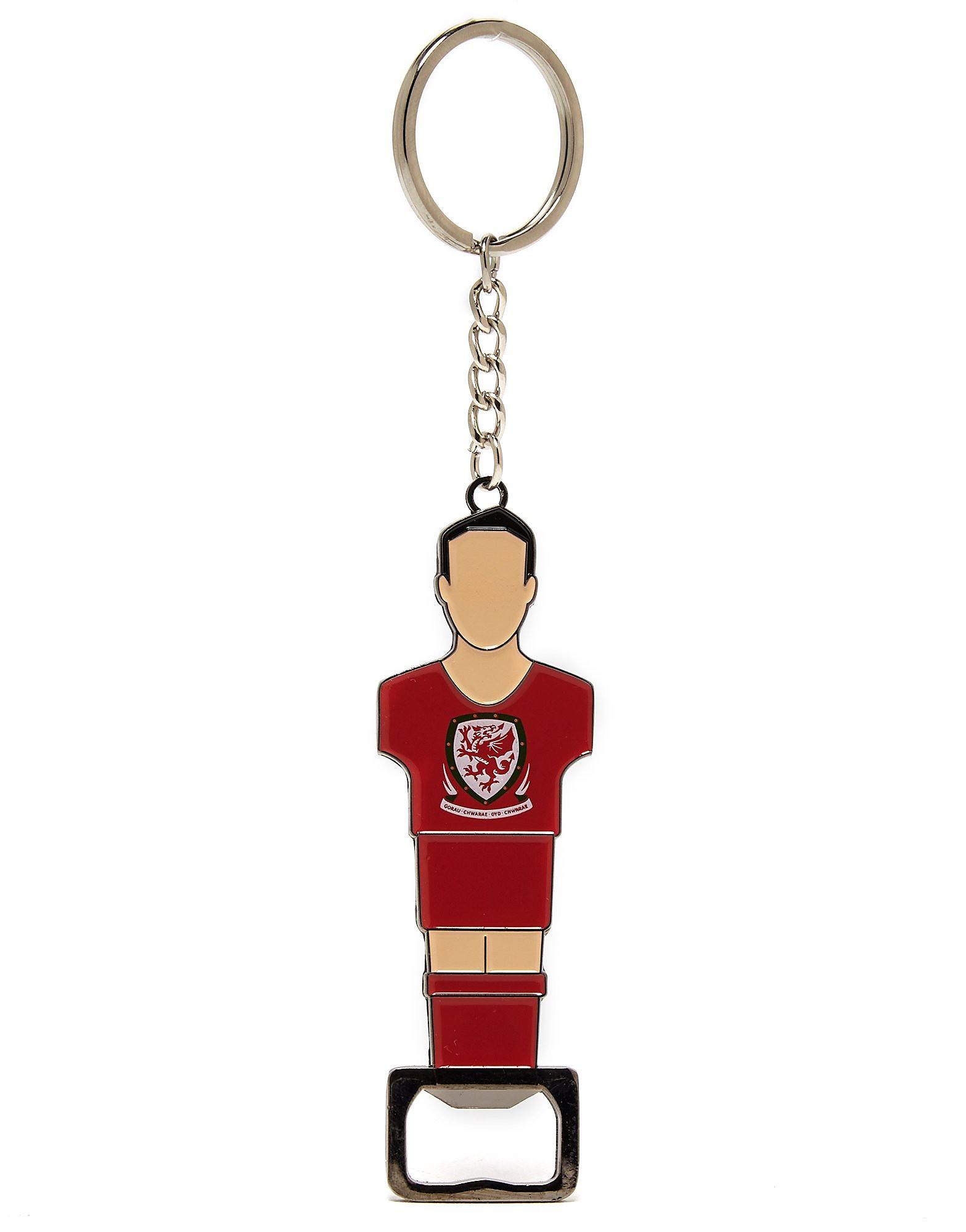 Official Team Abrelatas llavero de Gales