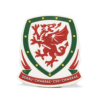 Official Team Wales 3D Crest Magnet