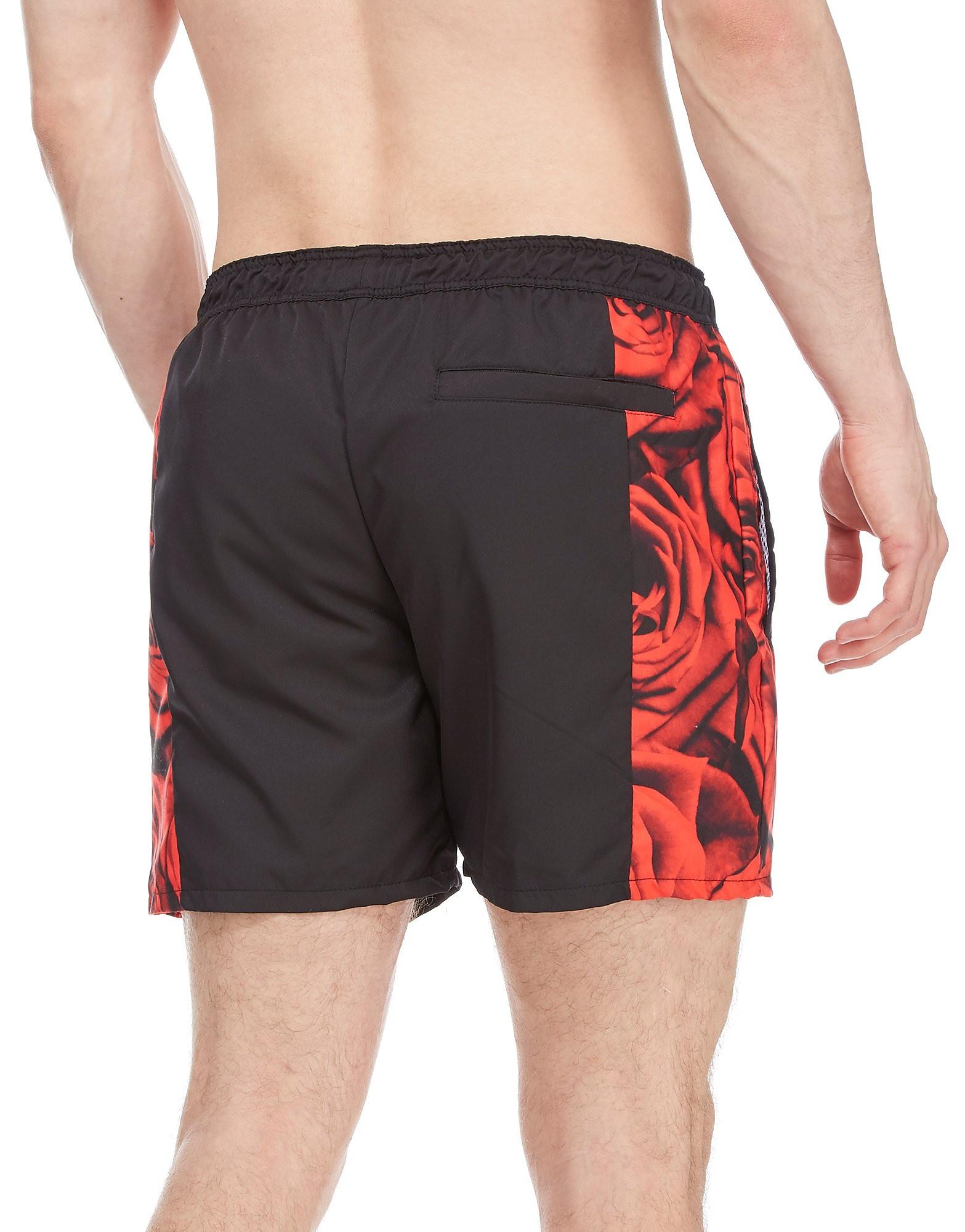 Supply & Demand Rose Side Swim Shorts