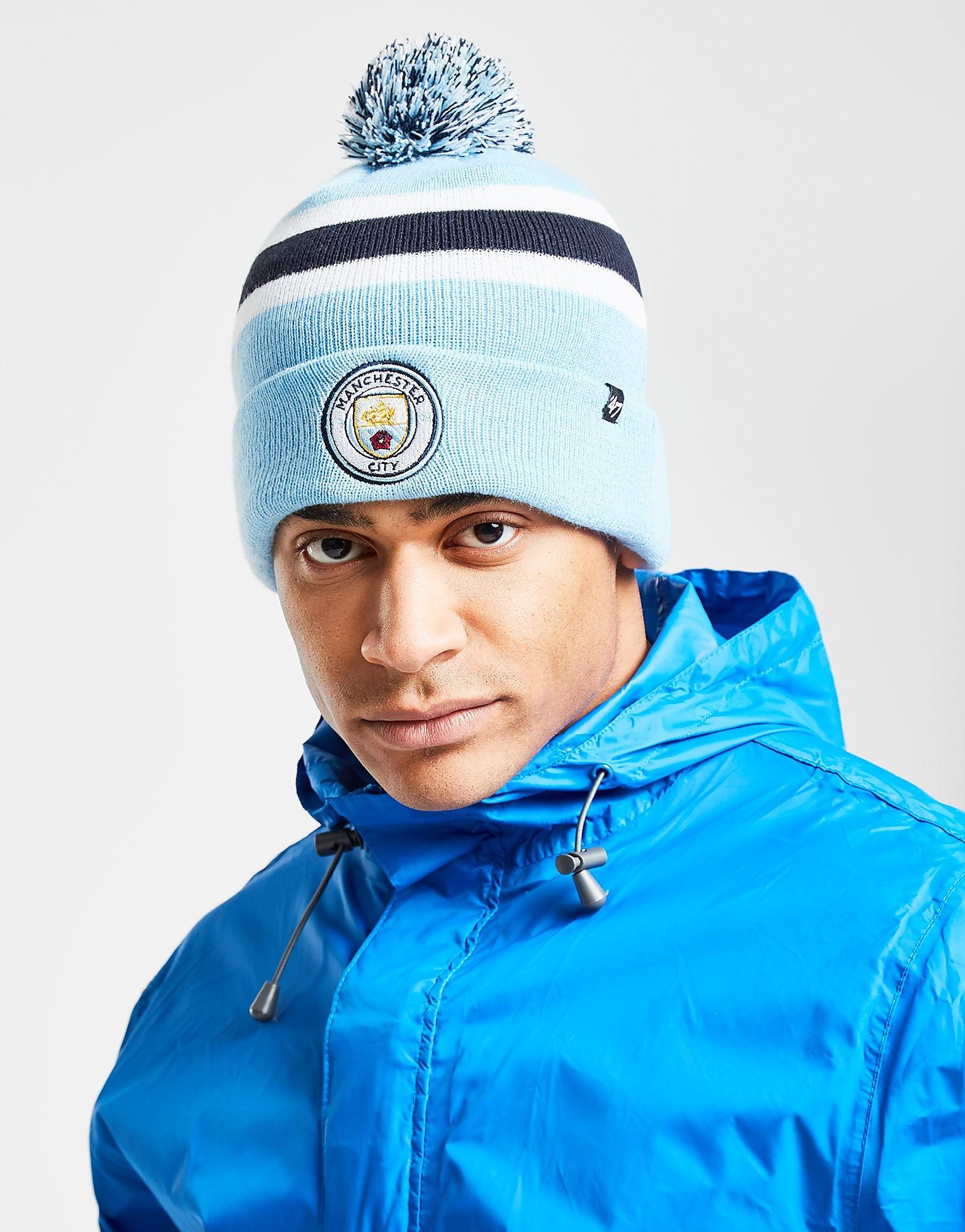 47 Brand Gorro de lana Breakaway del Manchester City FC