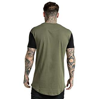 SikSilk Curved Hem T-Shirt