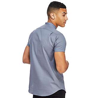 SikSilk Grandad Collar Shirt