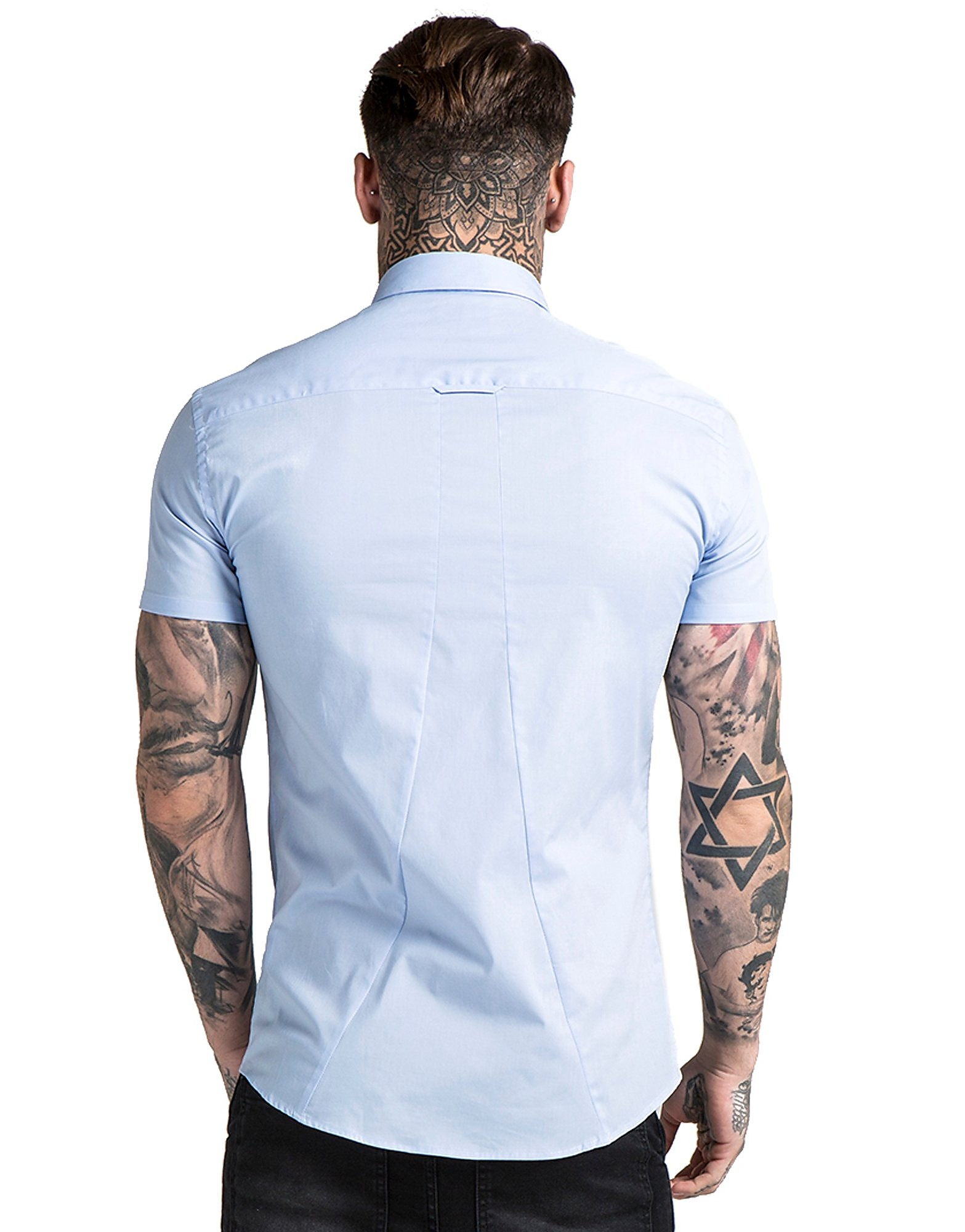 SikSilk Tab Oxford Shirt