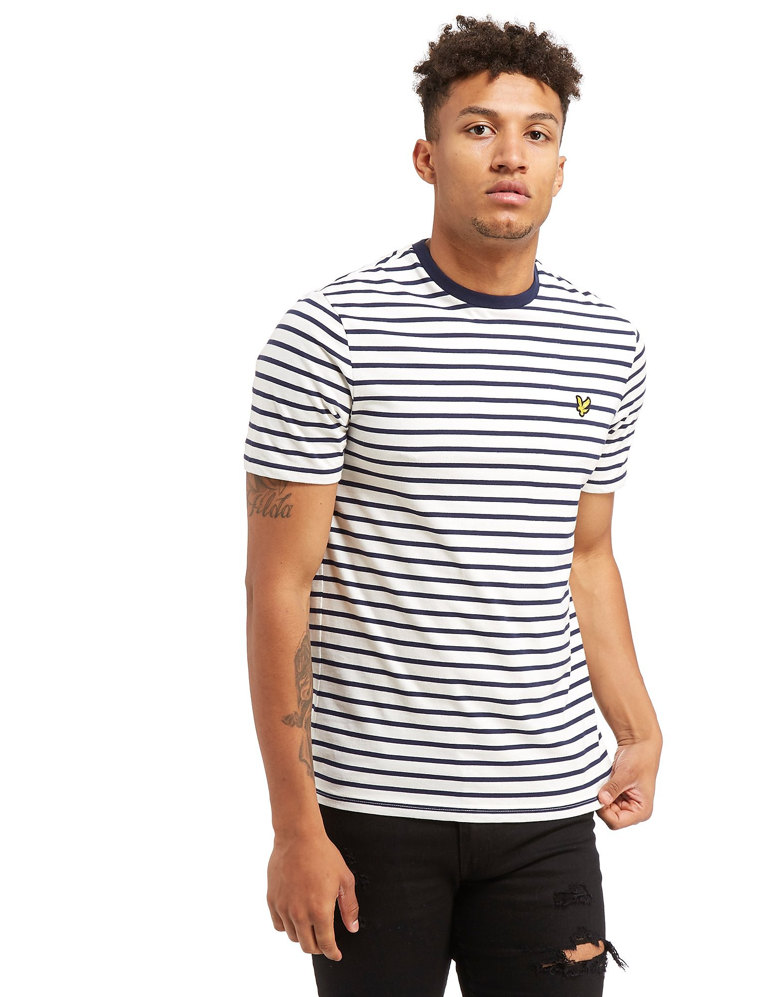 Lyle & Scott Breton Stripe Short Sleeve T-Shirt