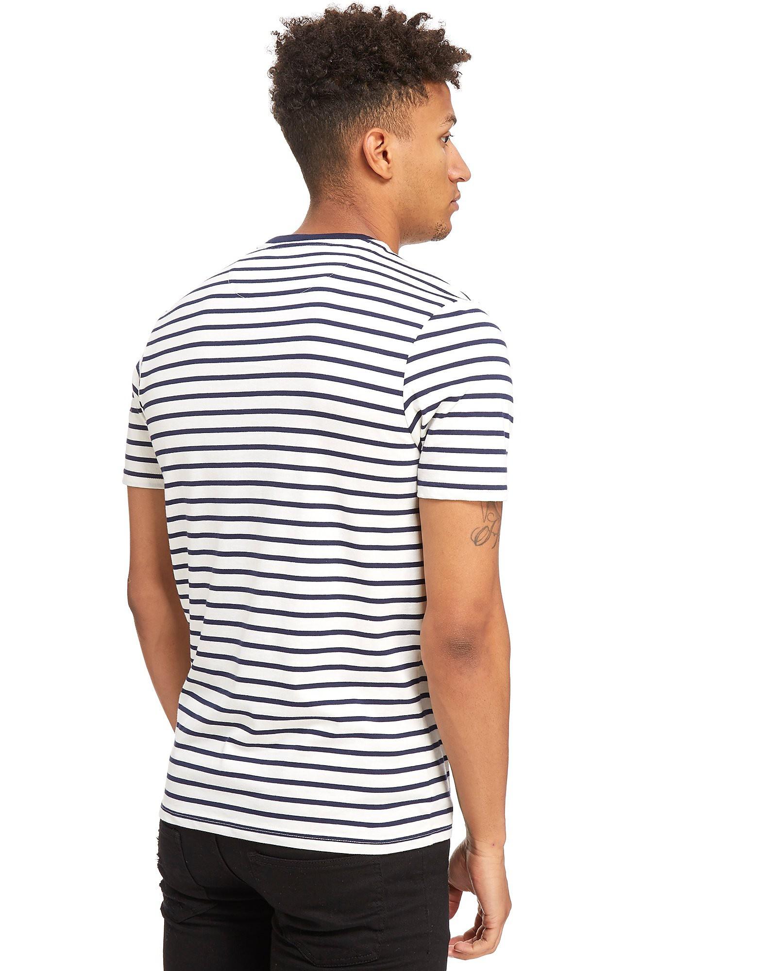 Lyle & Scott Breton Stripe Short Sleeve T-Shirt Heren