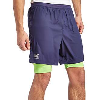 Canterbury Vapodri 2-in-1 Run Shorts