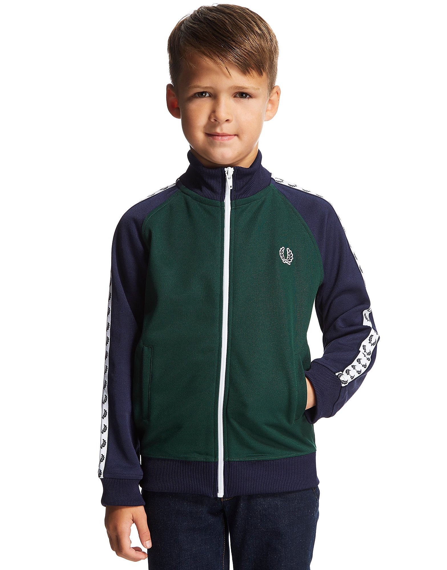 Fred Perry Tape Track Top Children