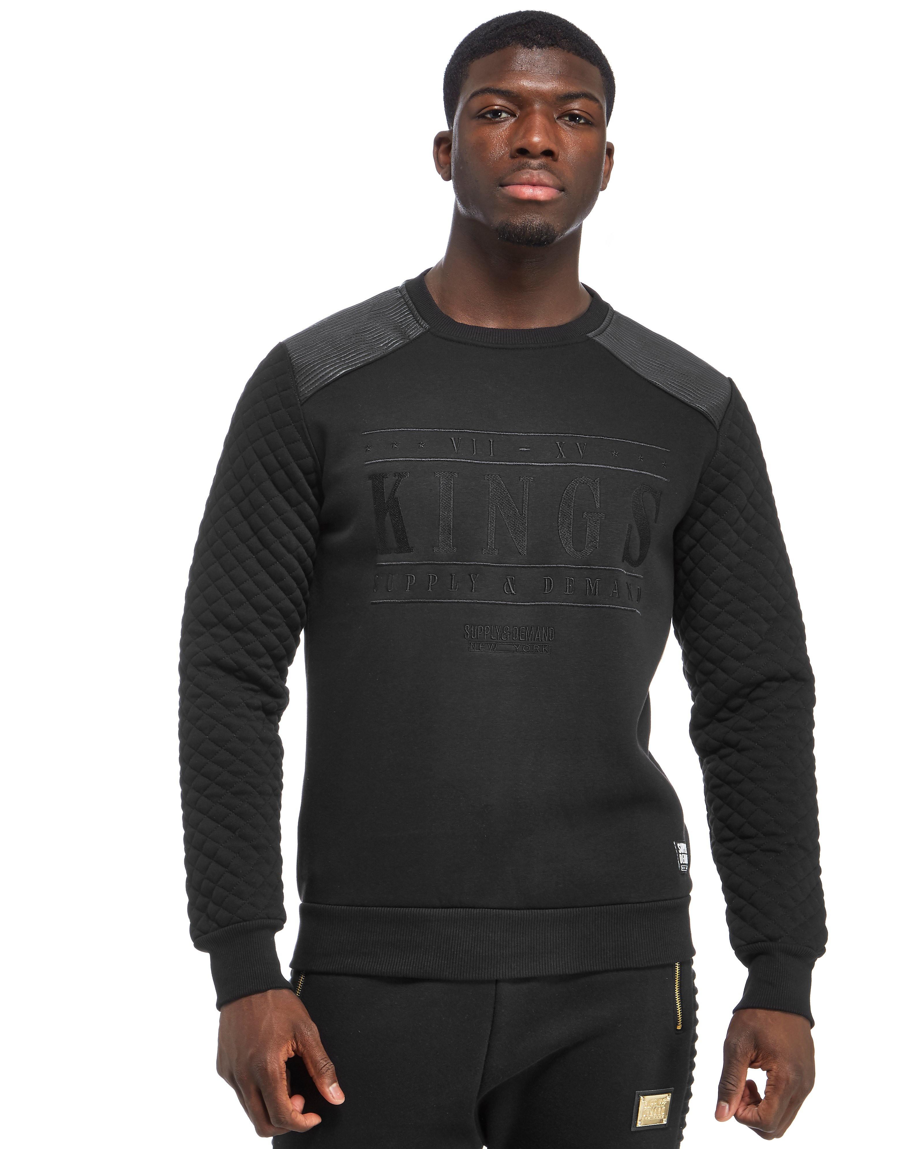 Supply & Demand Dark Kings Crew Sweatshirt