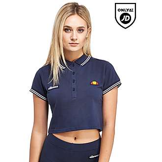 Ellesse Crop Polo Shirt