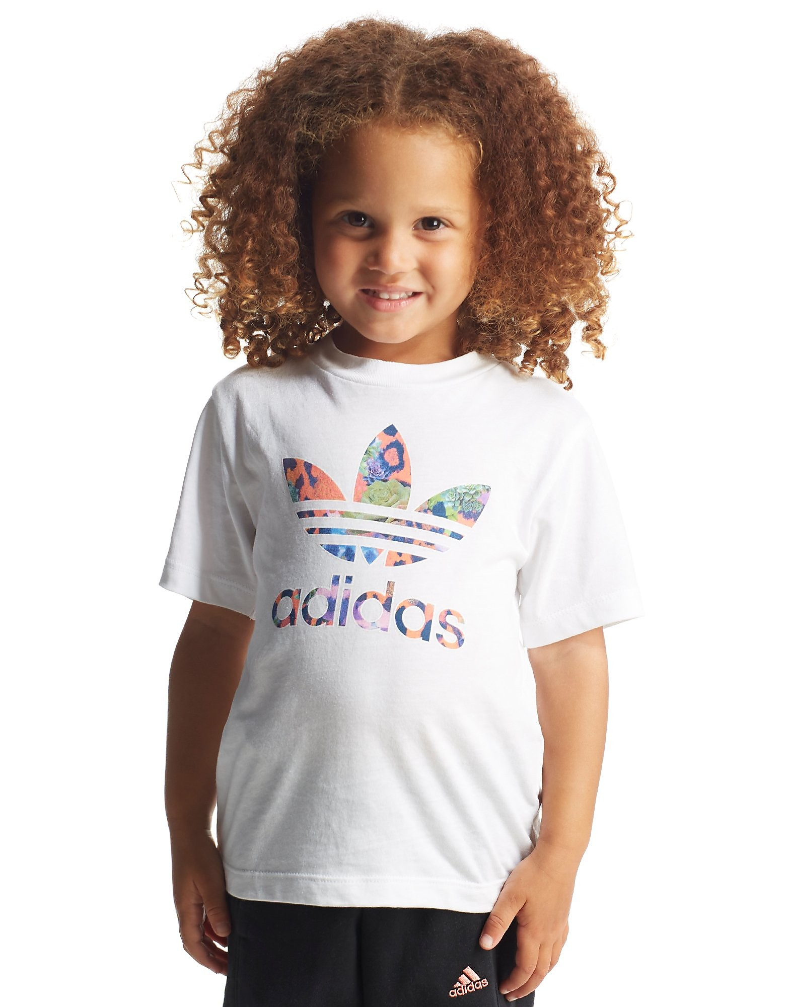 adidas Originals Girls' Farm T-Shirt Infant