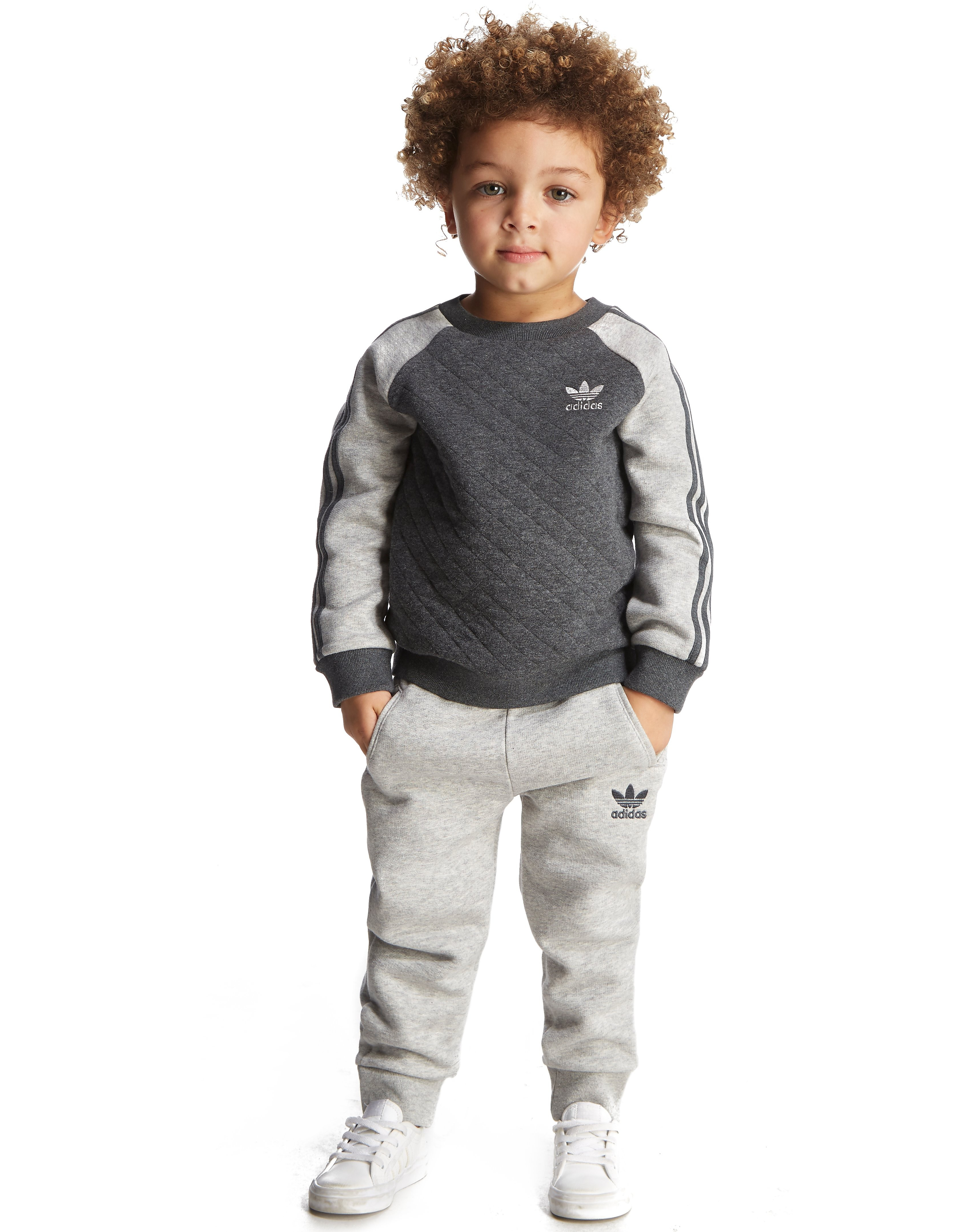 adidas Originals Quilted Crew Suit Infant