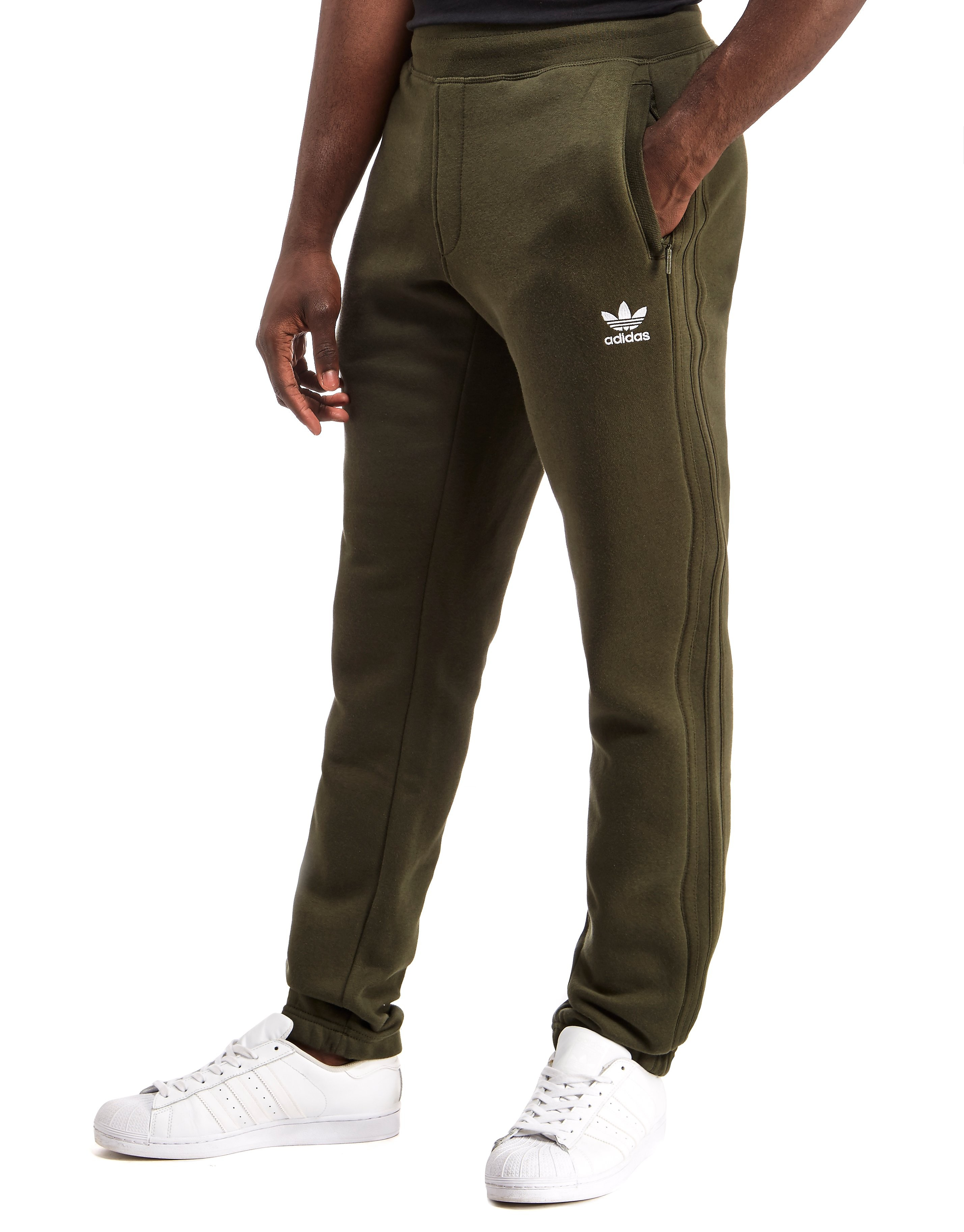 adidas Originals Premium 3-Stripe Fleece Pants