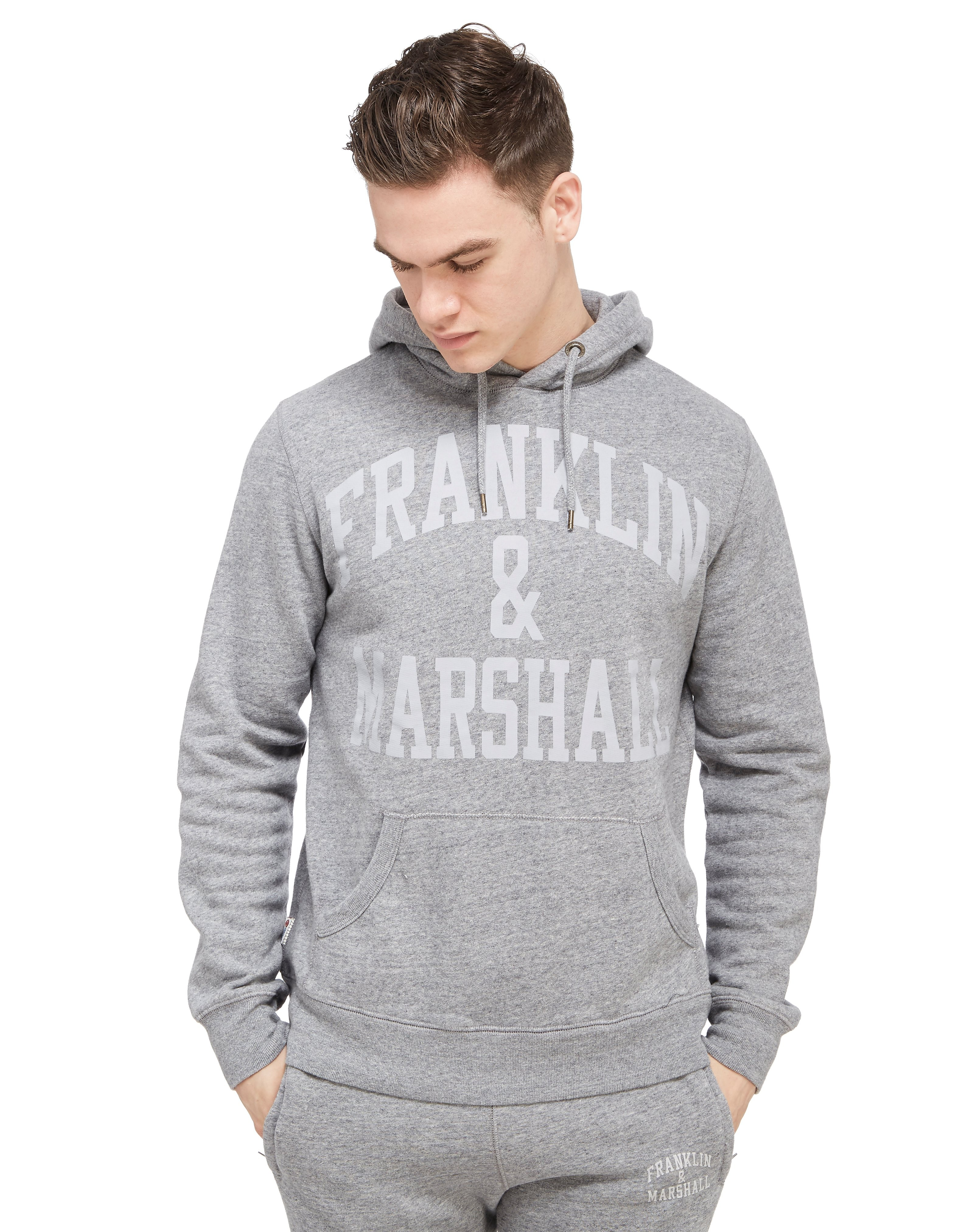 Franklin & Marshall Large Logo Hoody