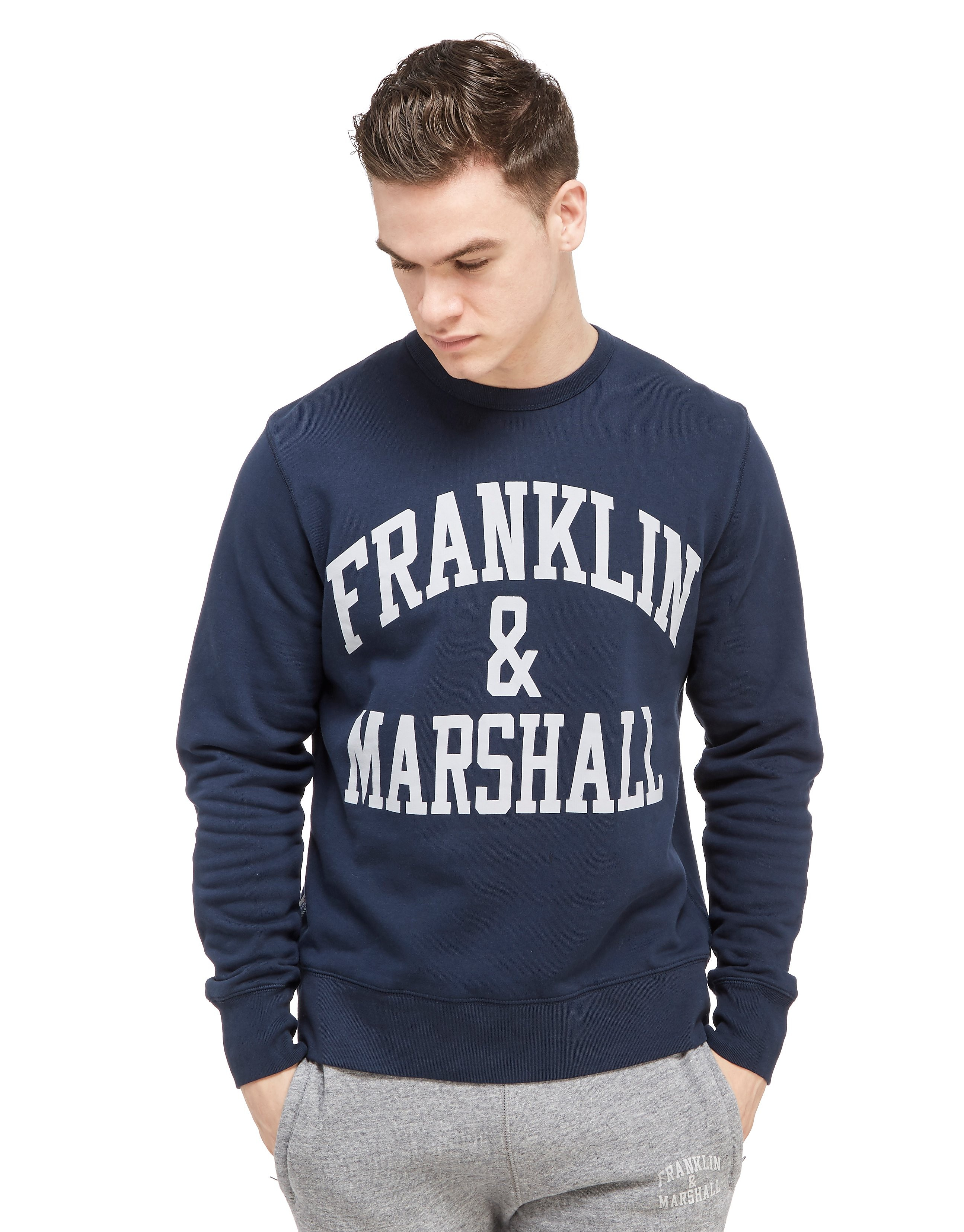 Franklin & Marshall Large Logo Crew Sweatshirt