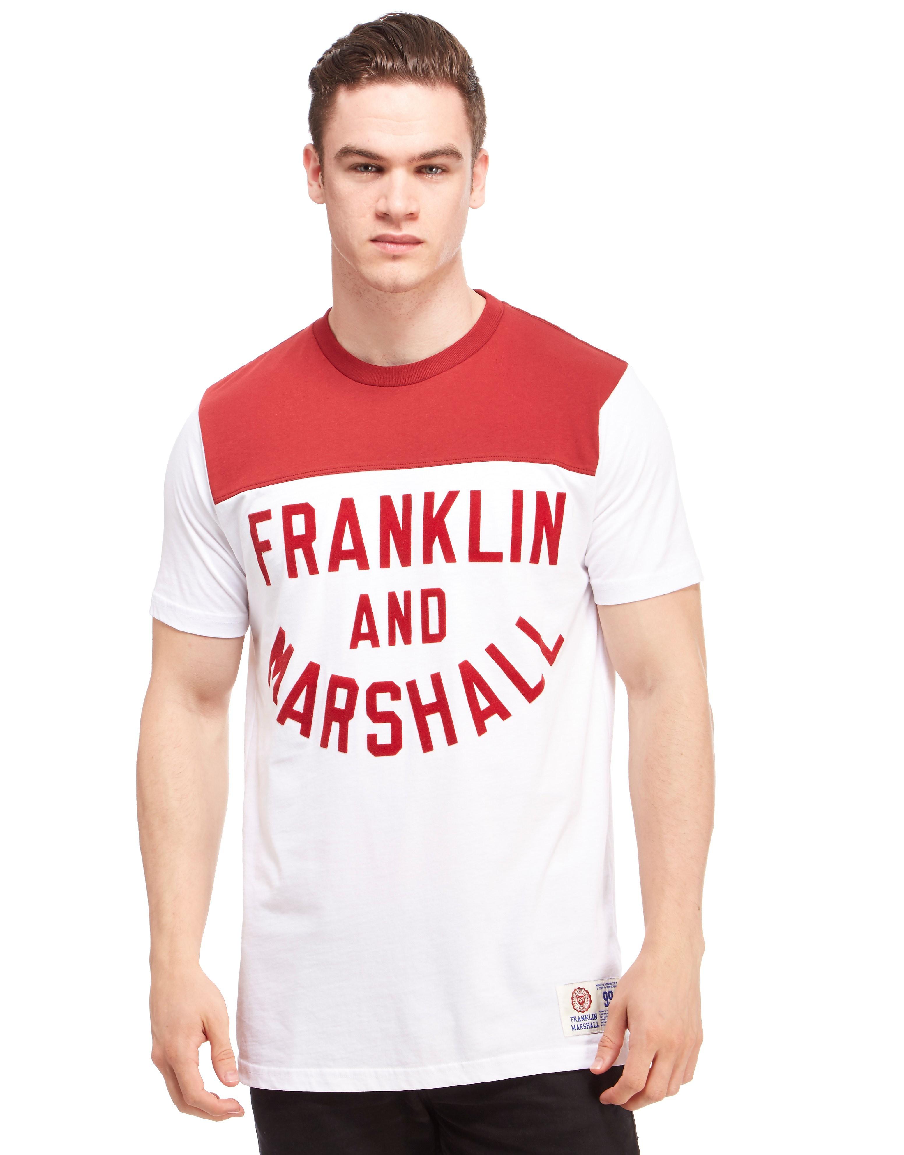 Franklin & Marshall Colourblock T-Shirt