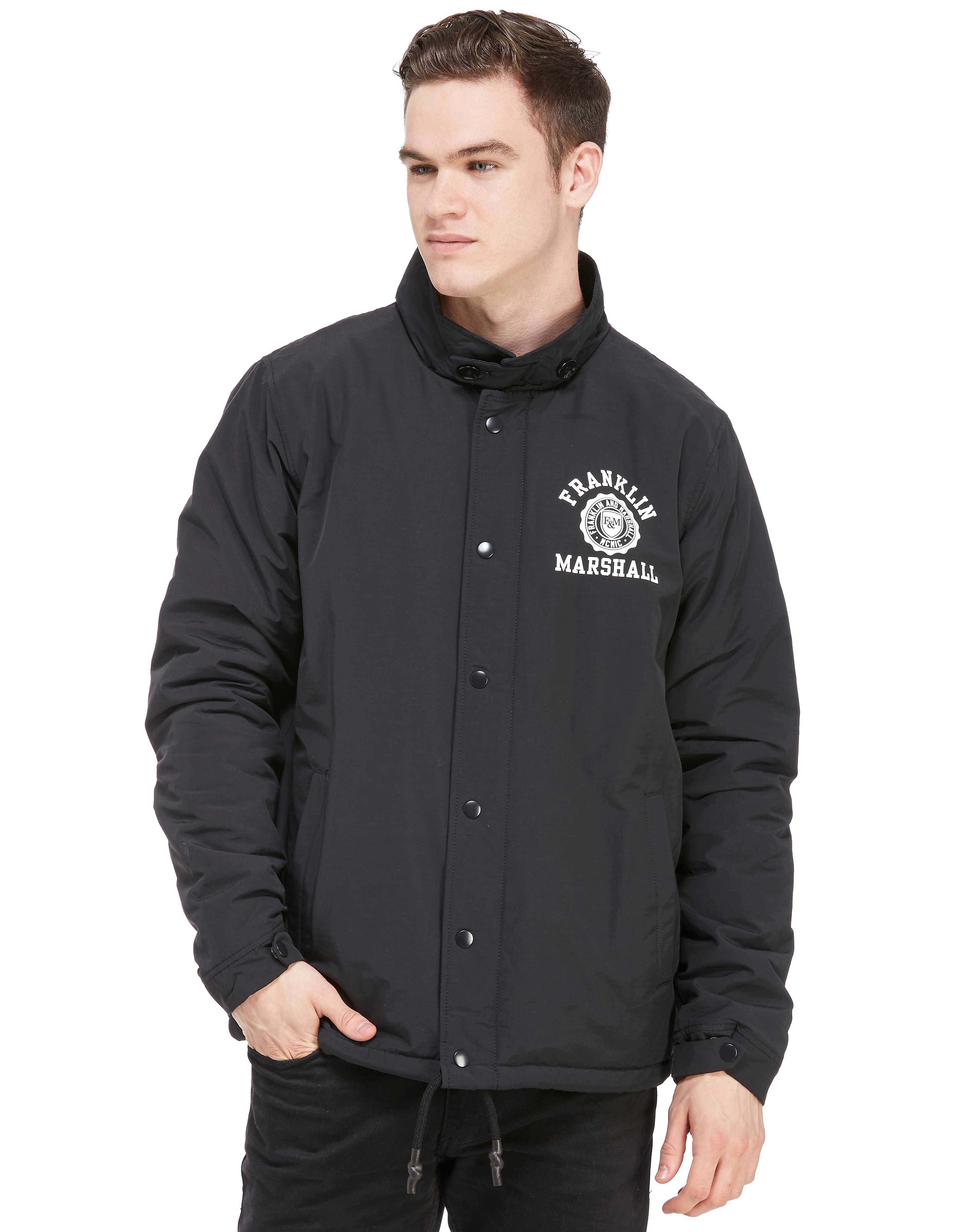 Franklin & Marshall Seal Stack Coach Jacket