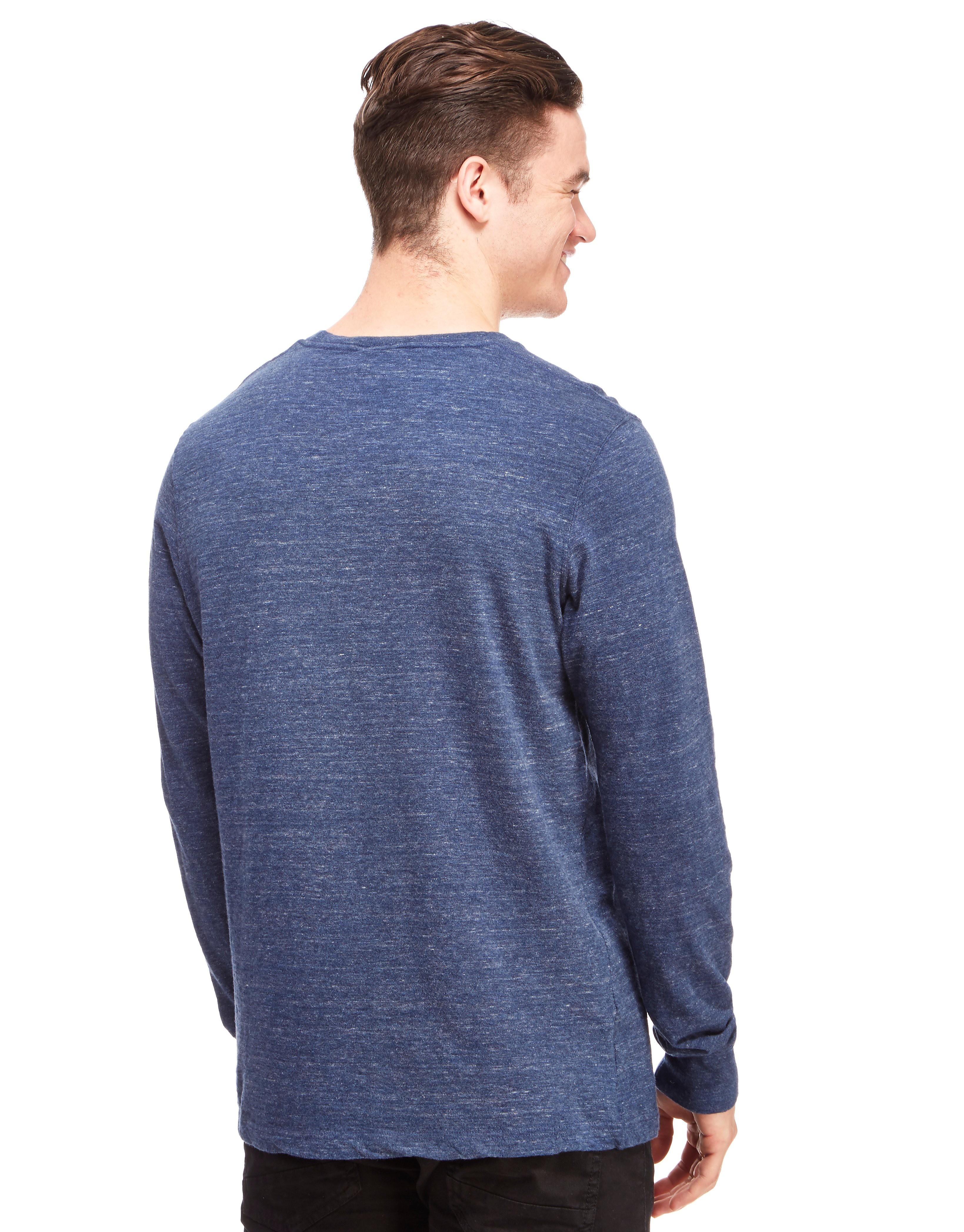 Franklin & Marshall Pocket Long Sleeve T-Shirt