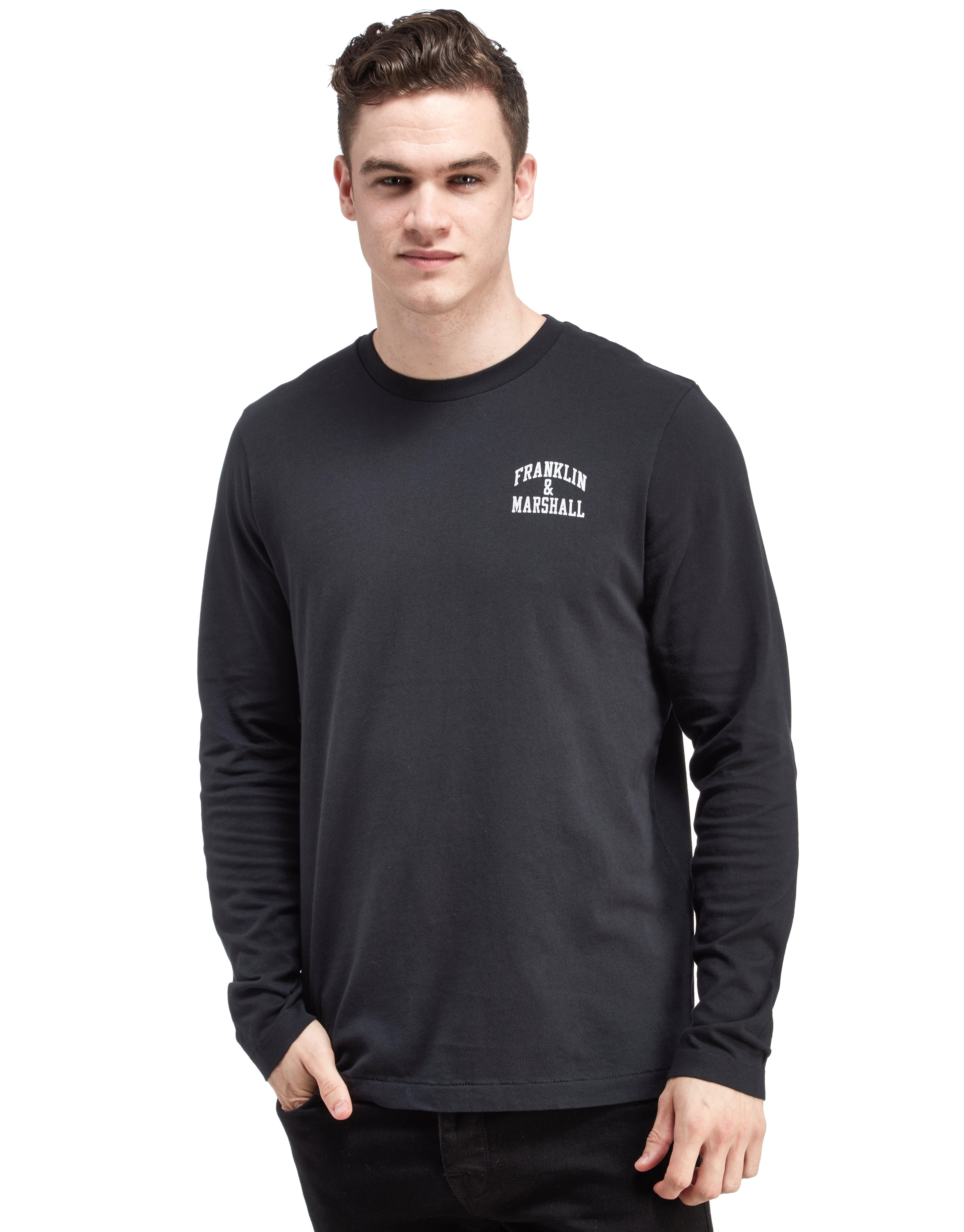 Franklin & Marshall Core Small Logo Long Sleeve T-Shirt