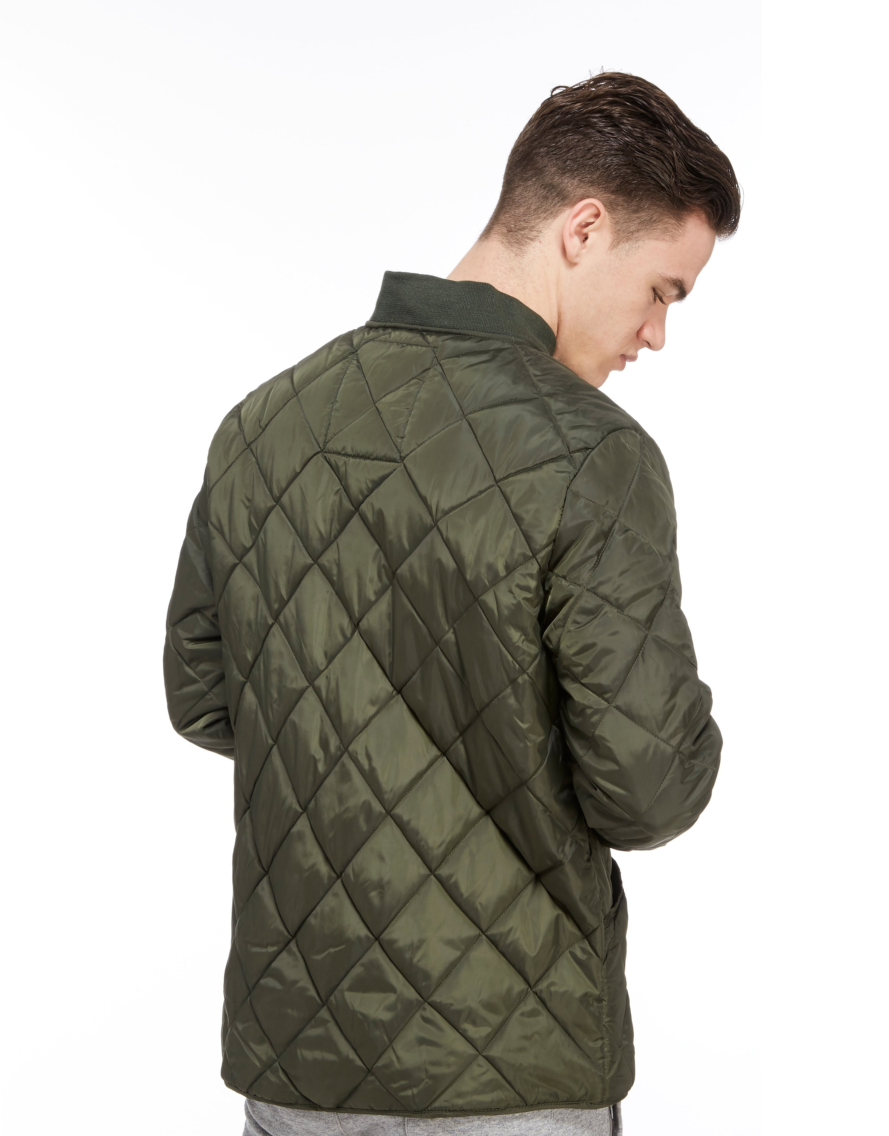 Franklin & Marshall Quilted Varsity Jacket