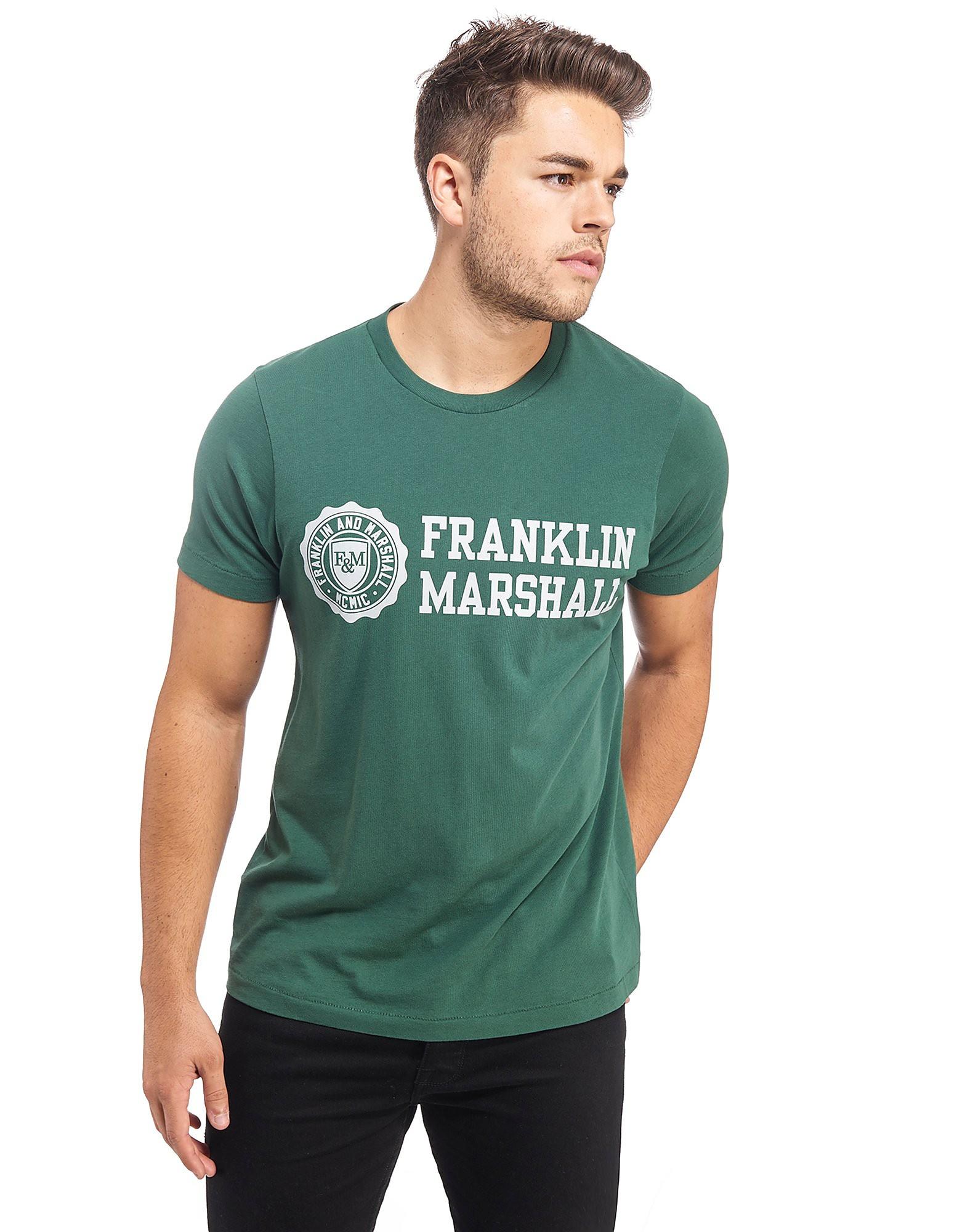 Franklin & Marshall Banner Logo T-Shirt