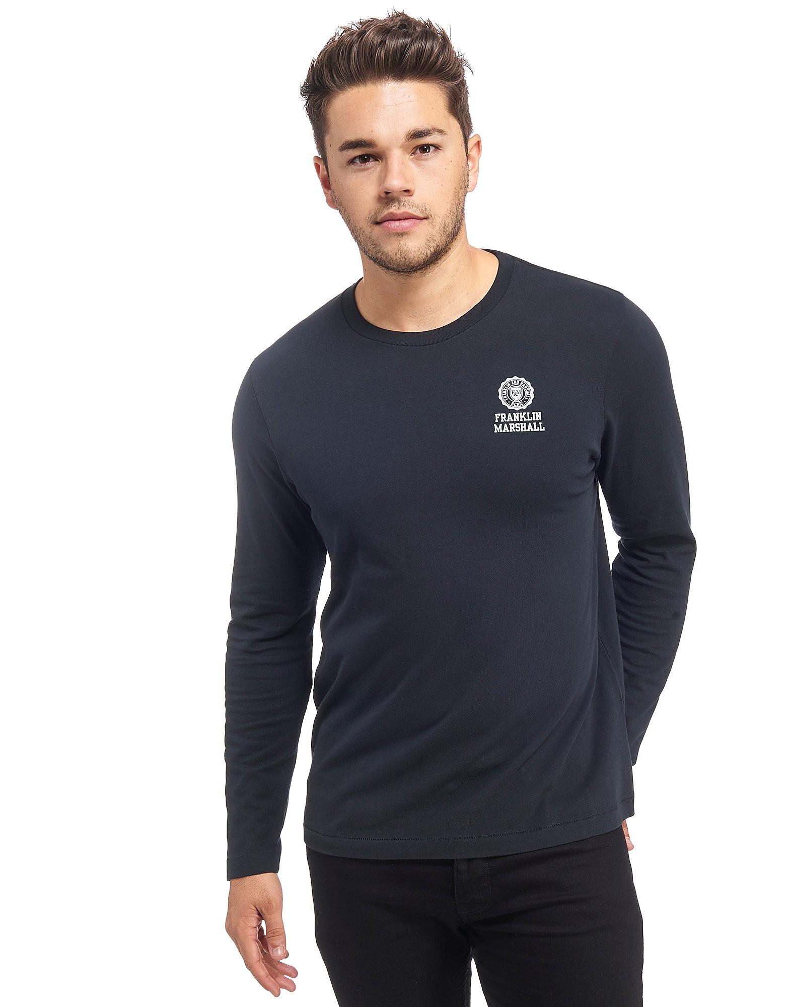 Franklin & Marshall Crest Longsleeve T-Shirt