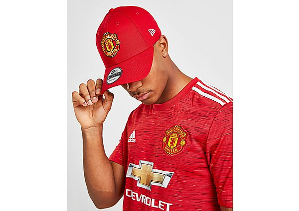 d543bfaf211 New Era 9FORTY Manchester United Adjustable Cap - Red - Mens ...