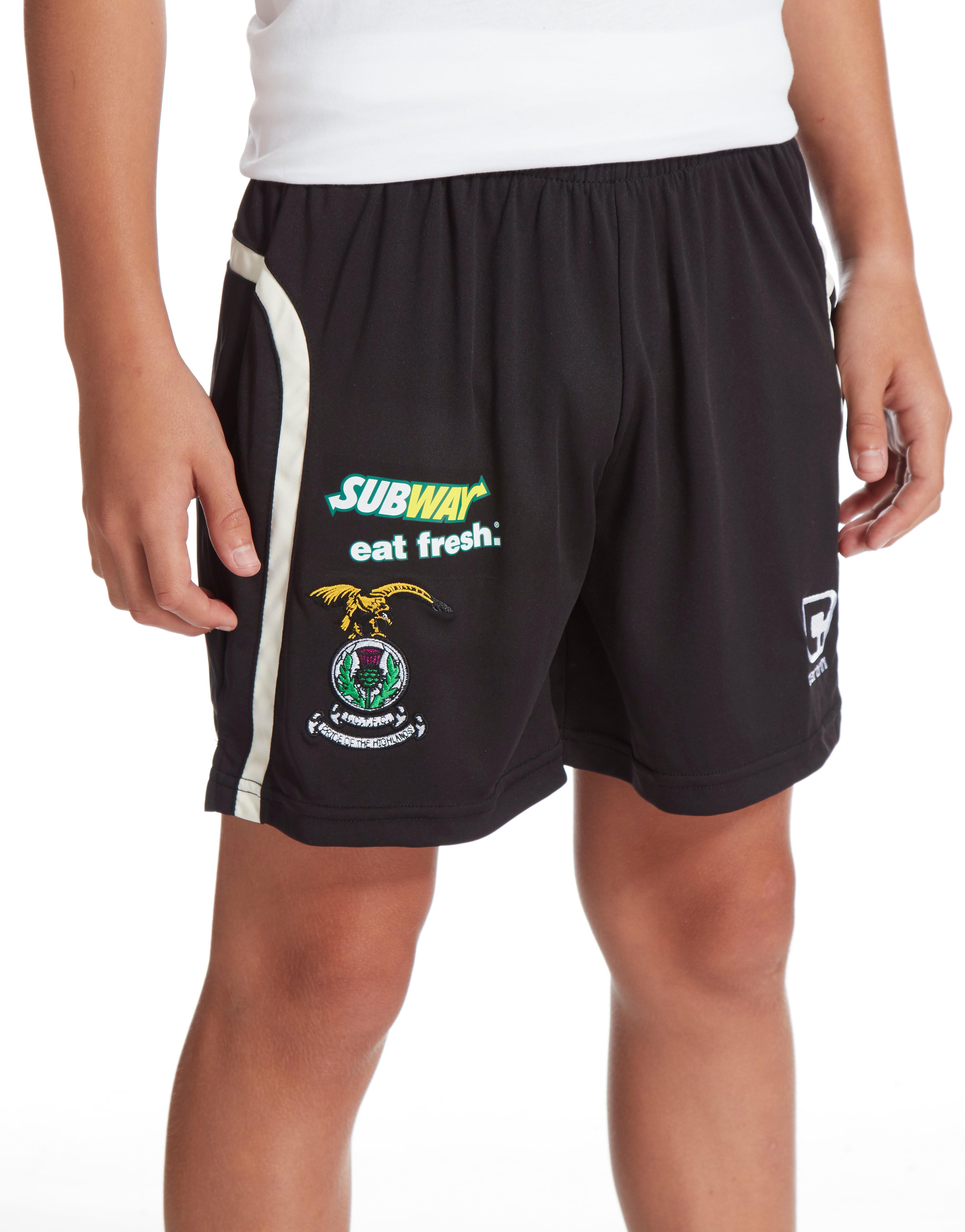 Carbrini Inverness CT 2016/17 Away Shorts Junior