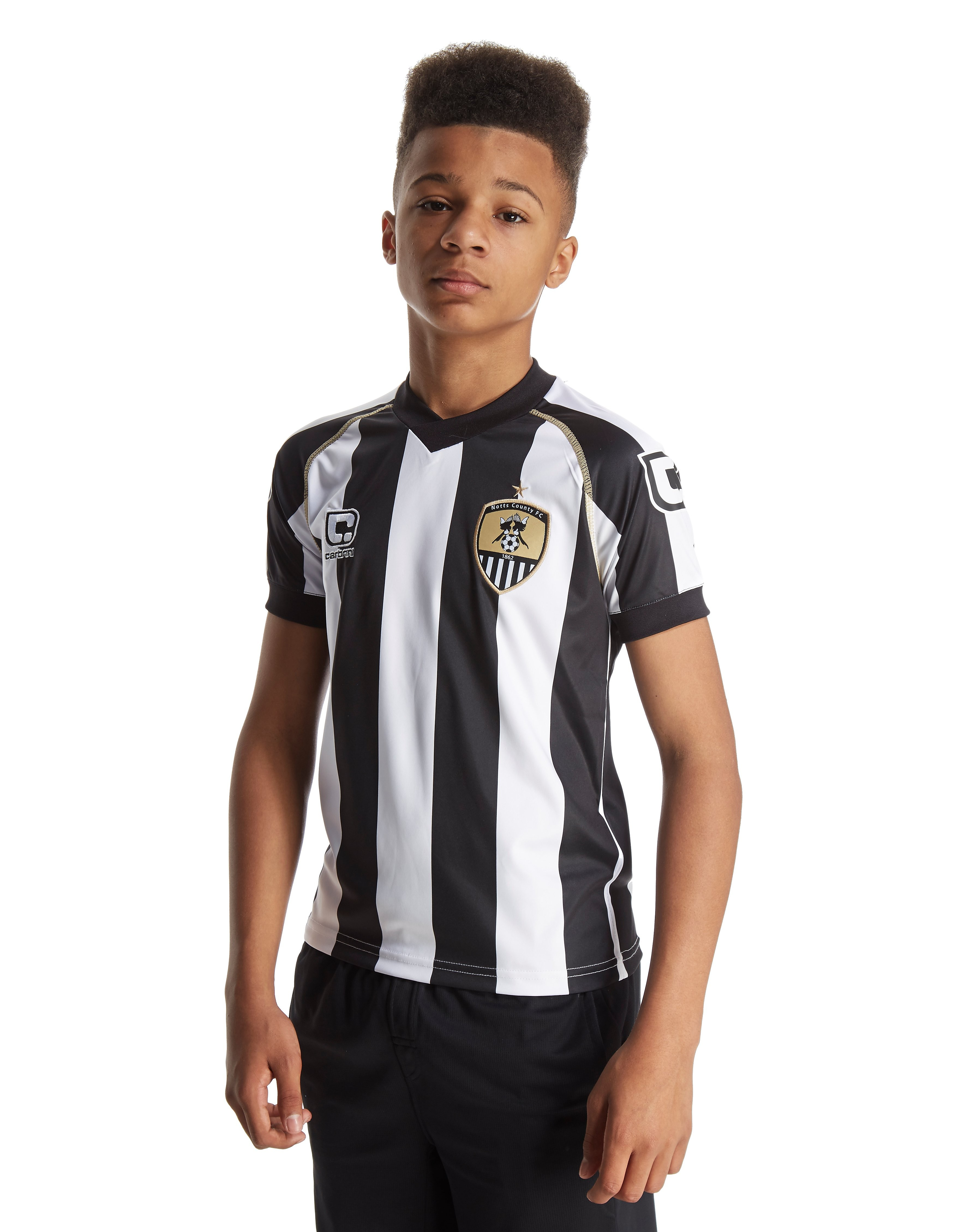 Carbrini Notts County FC 2016/17 Home Shirt Junior