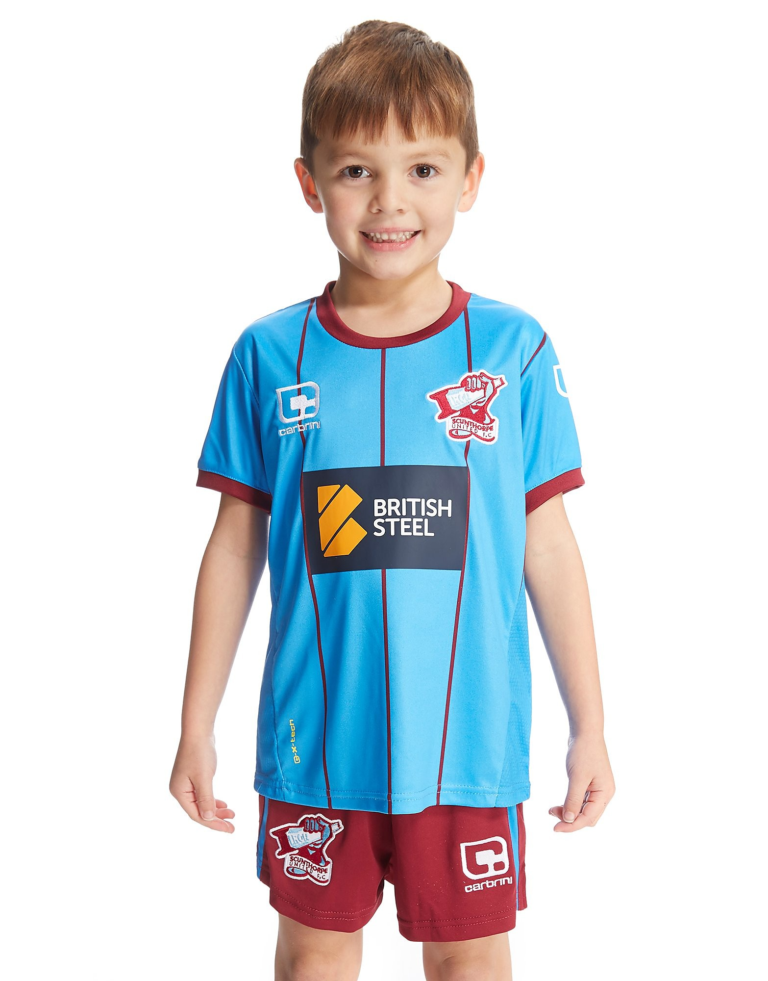 Carbrini Scunthorpe United FC 2016/17 Home Kit Children