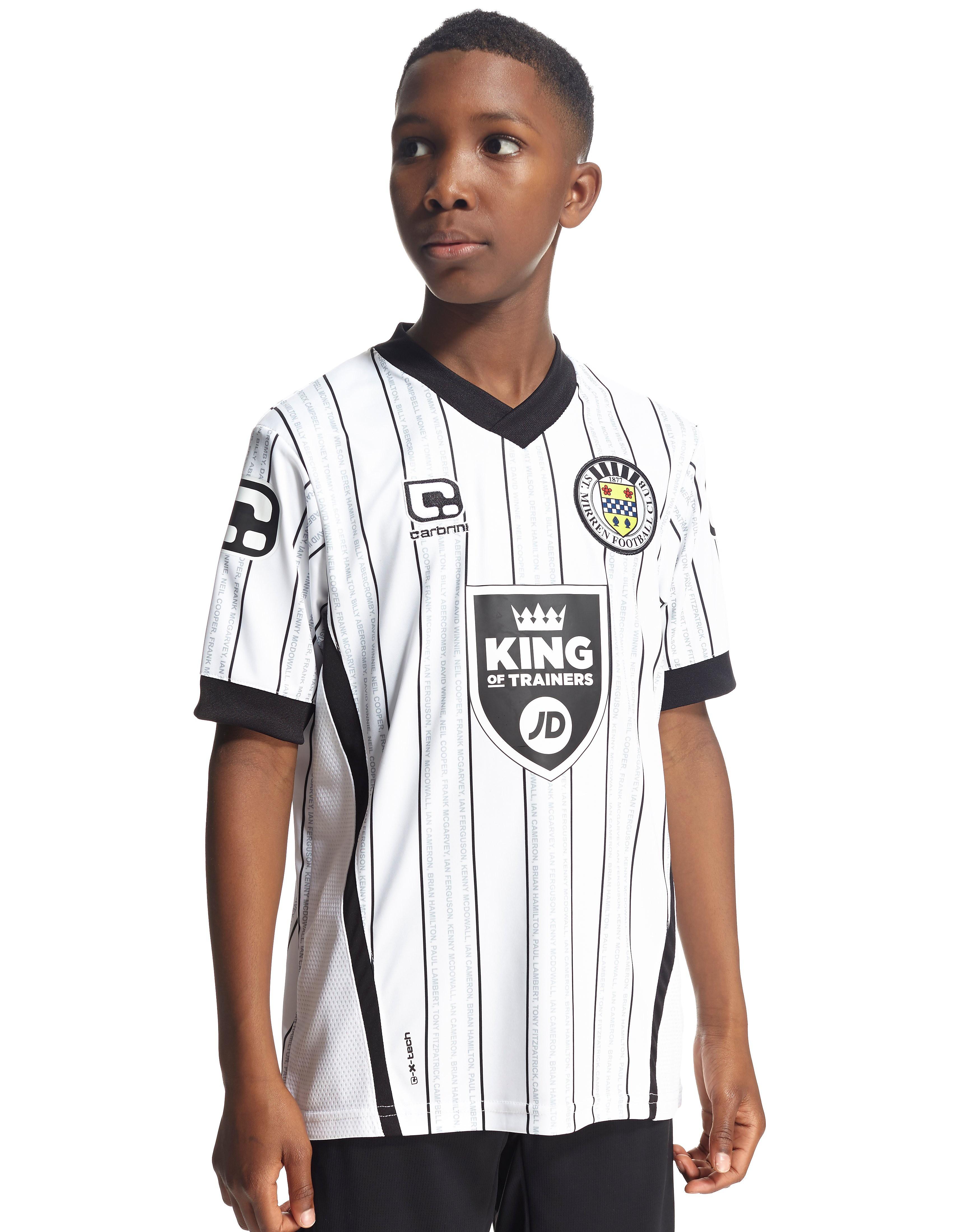 Carbrini St Mirren FC 2016/17 Home Shirt Junior