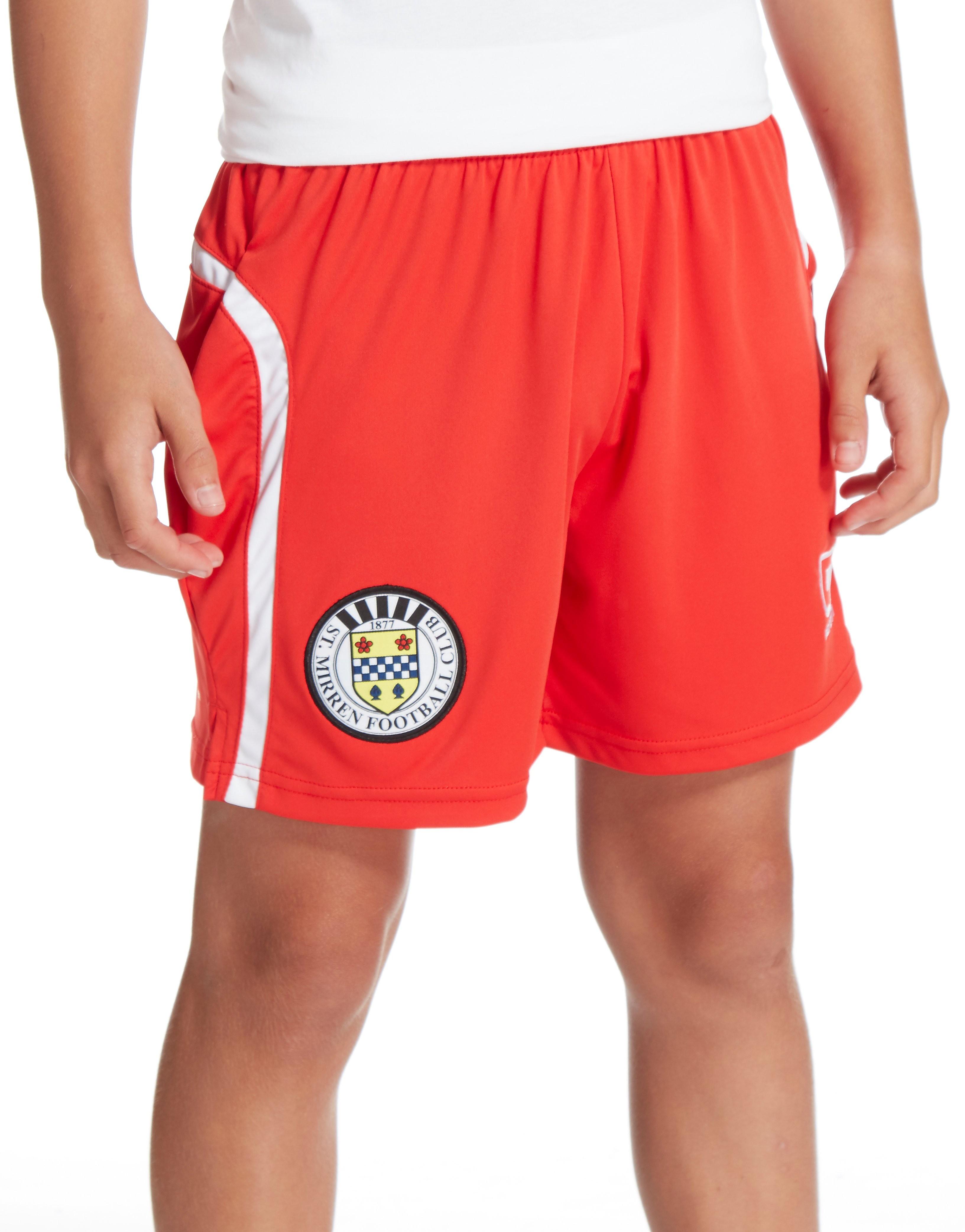 Carbrini St Mirren FC 2016/17 Home Shorts Jnr PRE ORDER