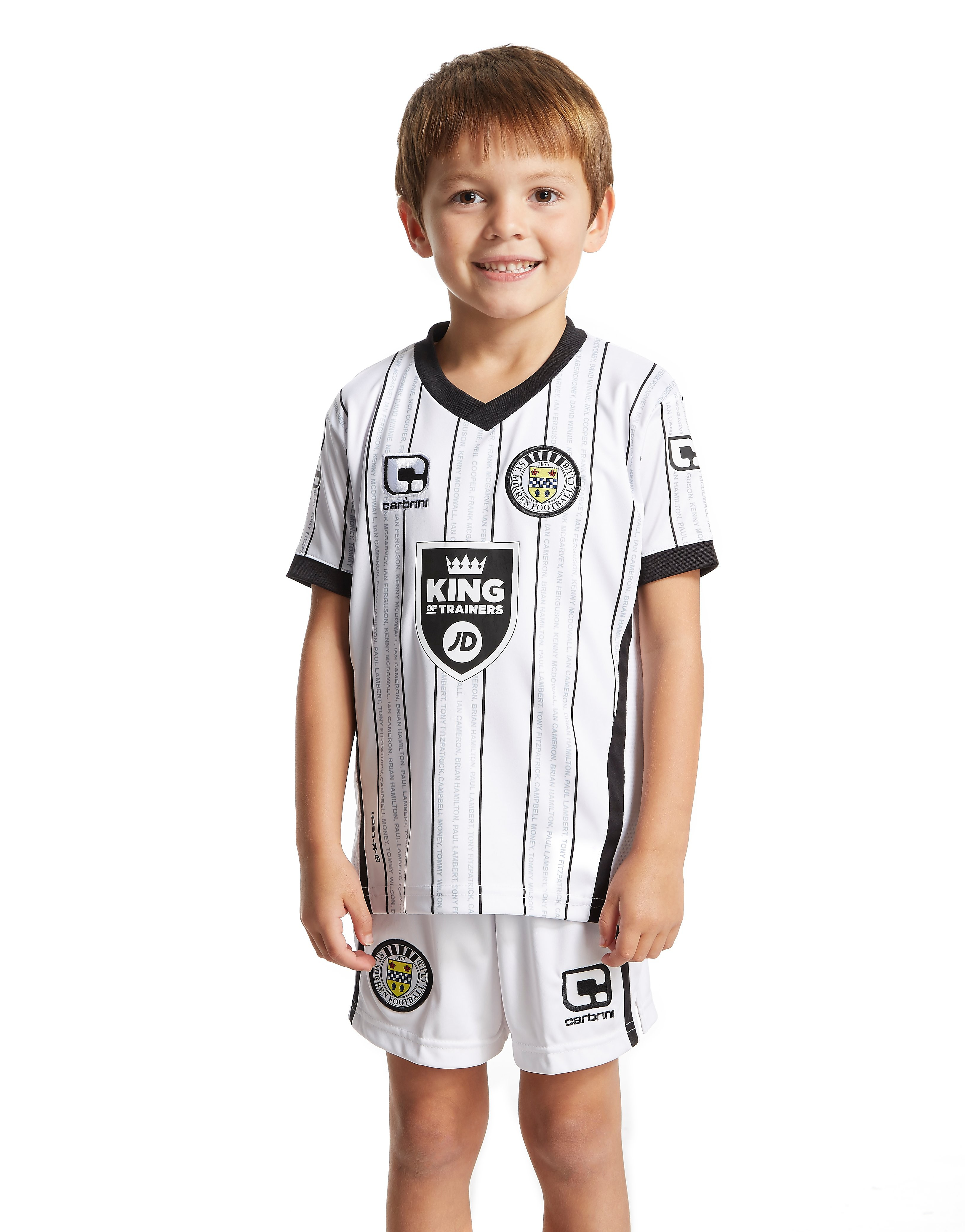 Carbrini St Mirren FC 2016/17 Home Kit Children