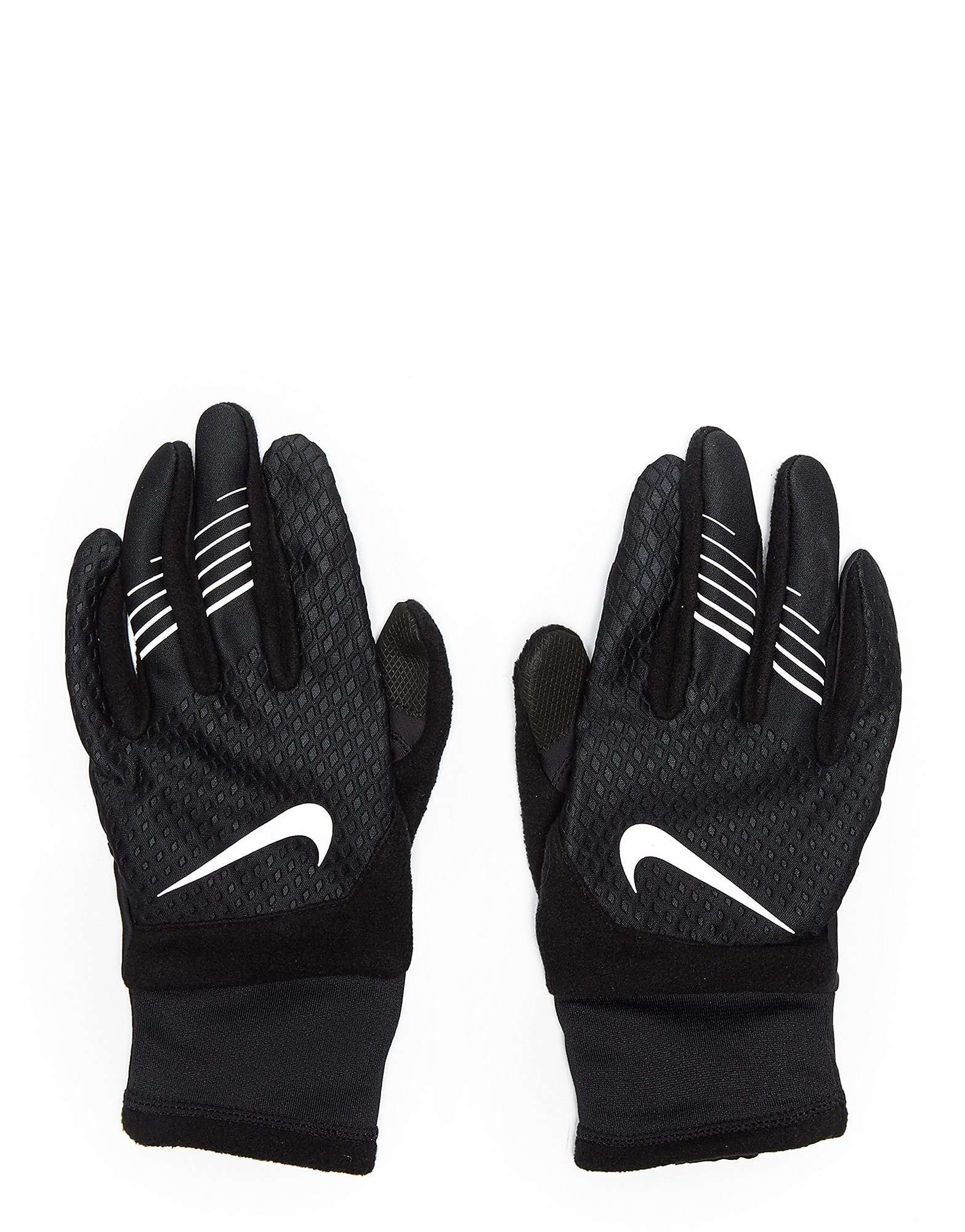 Leather gloves mens jd - Nike Therma Fit Running Gloves Black Silver Mens Black Silver