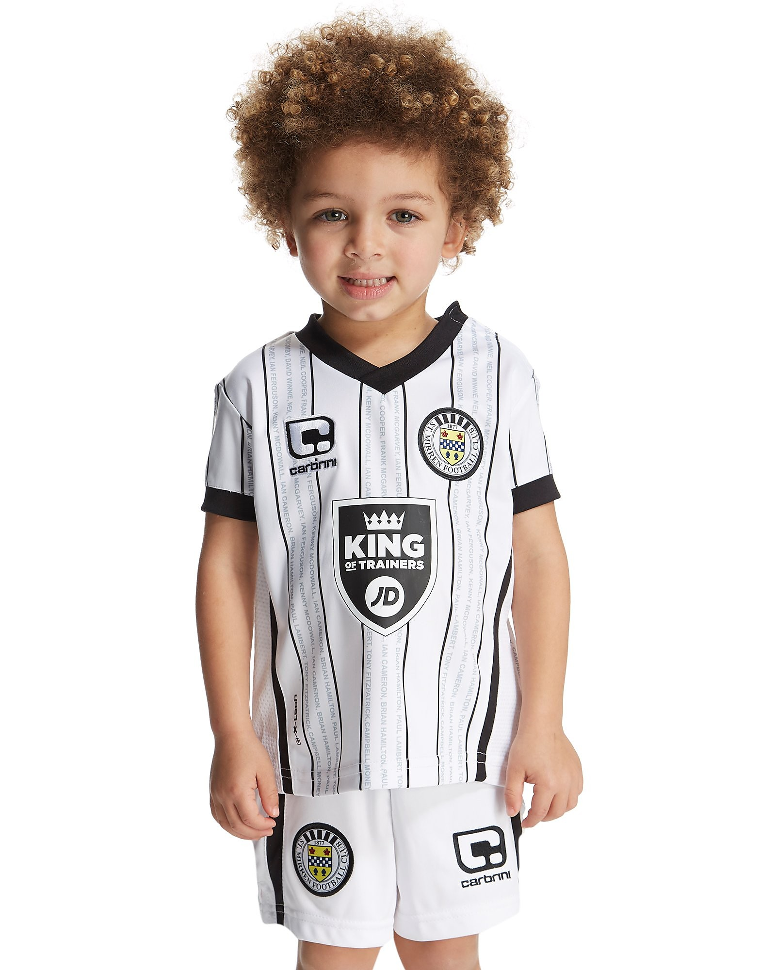 Carbrini St Mirren FC 2016/17 Home Kit Infant