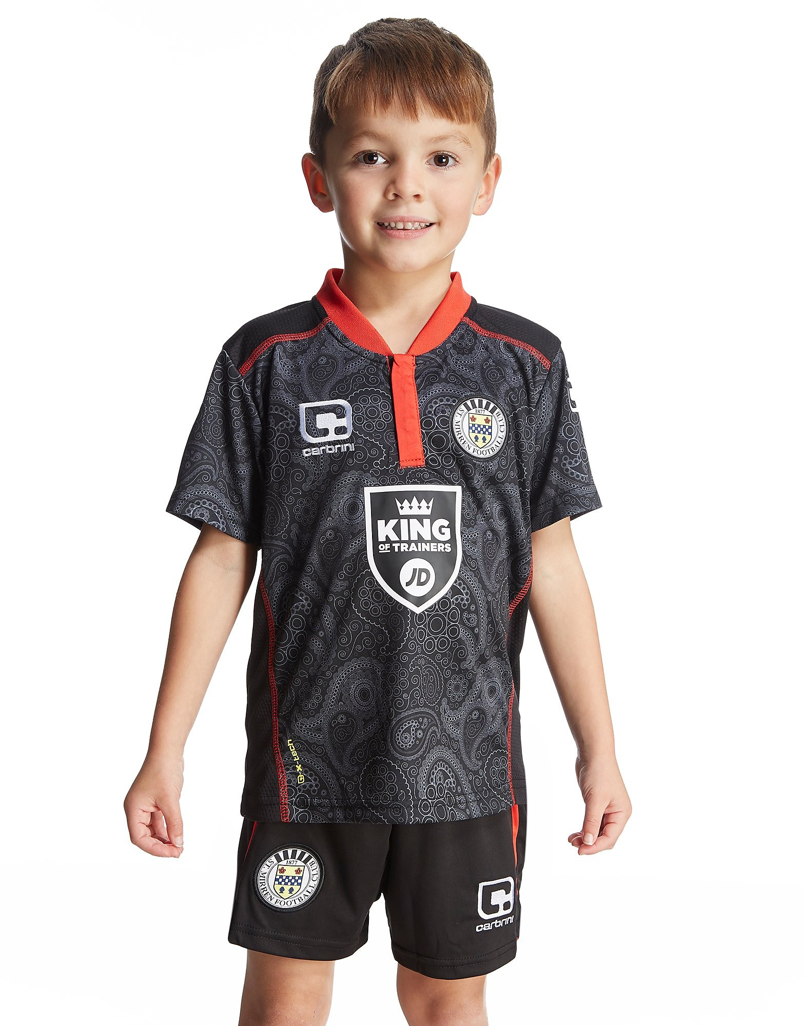 Carbrini St Mirren FC Away Kit Children