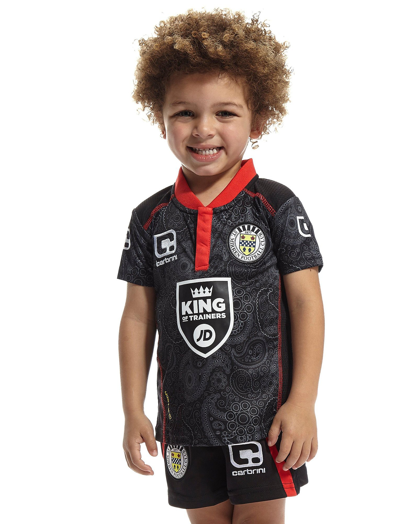 Carbrini St. Mirren Away 2016/17 Kit Infant