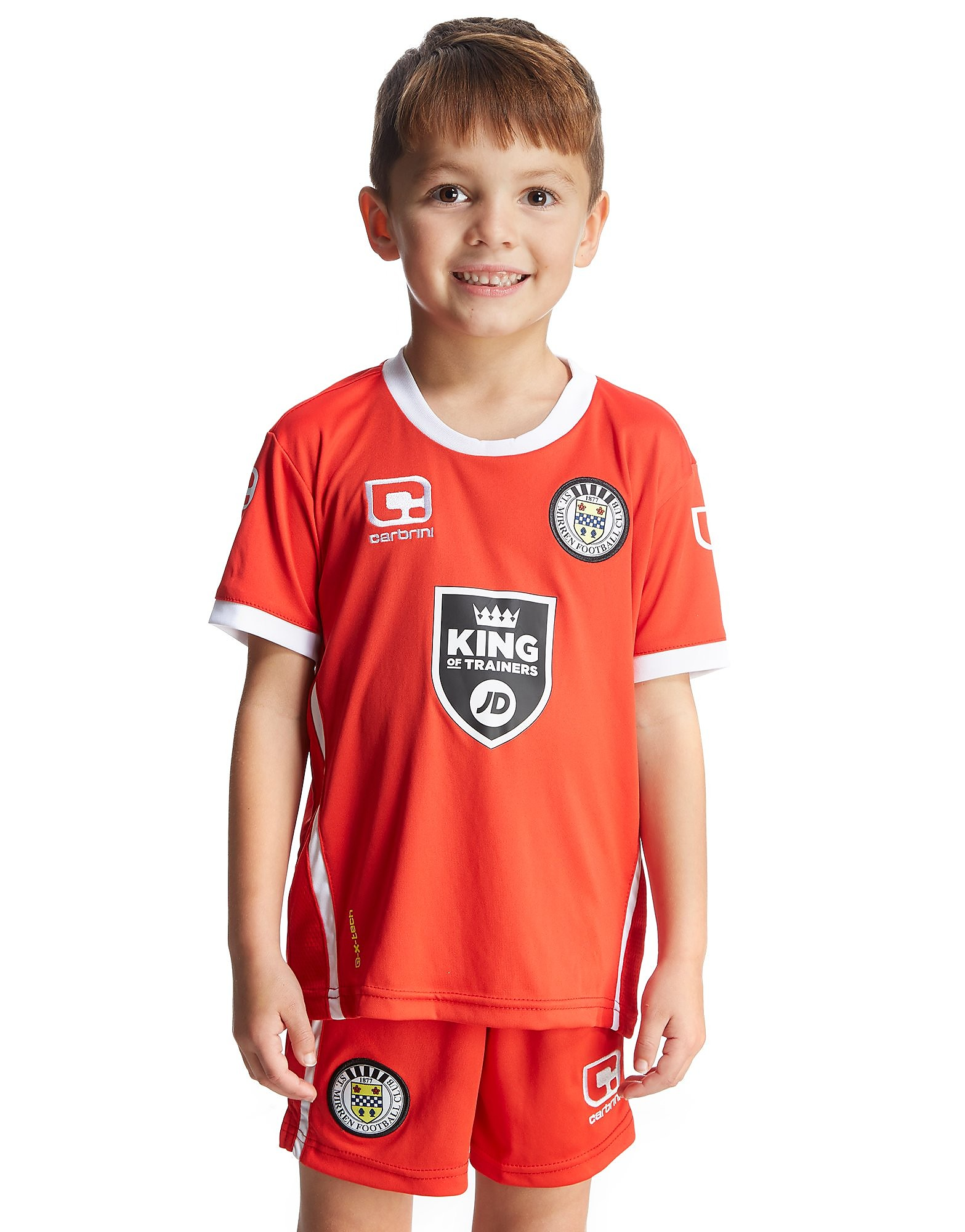 Carbrini St. Mirren 2016/17 Third Kit Children