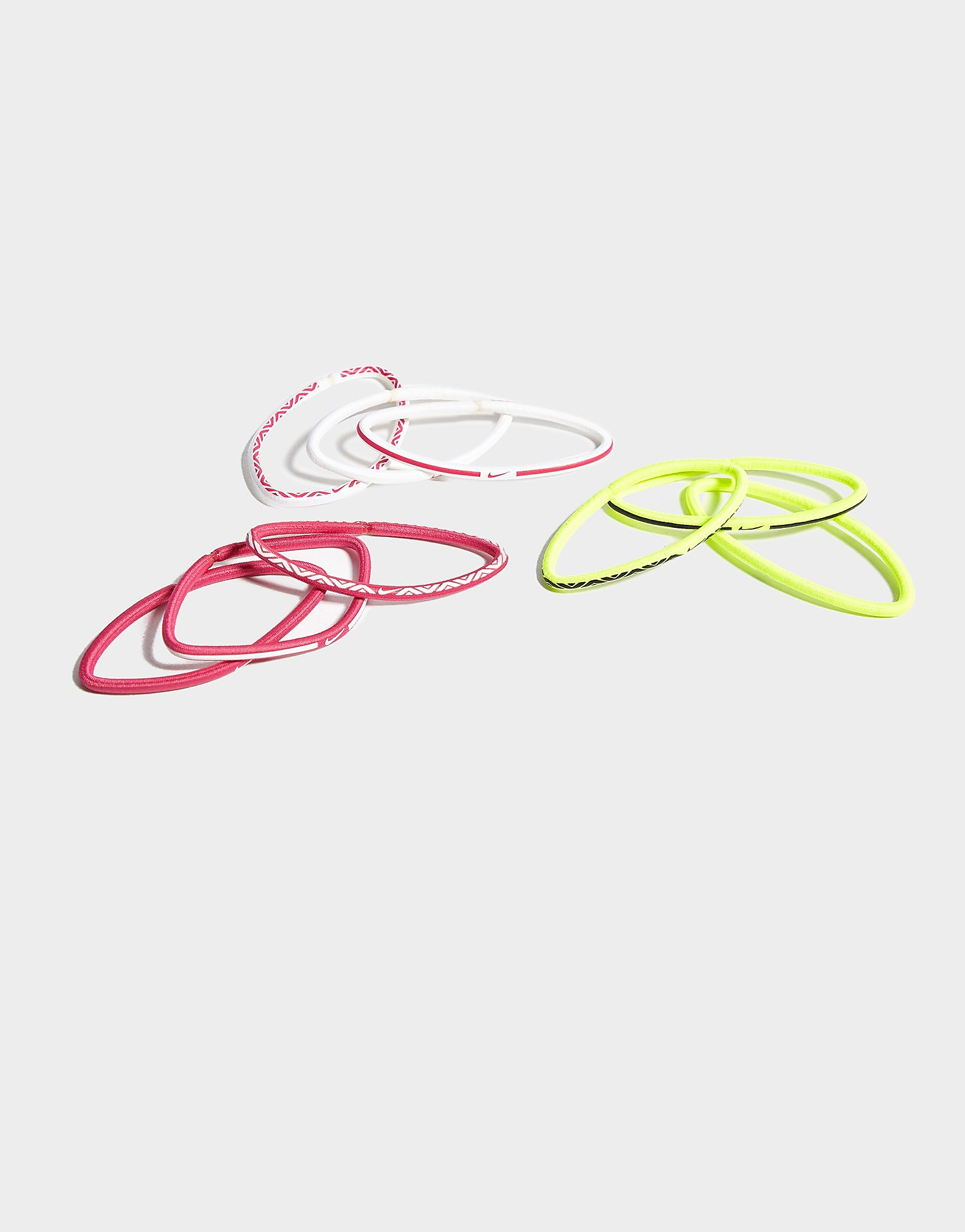 Nike 9 Pack Elastic Hairbands