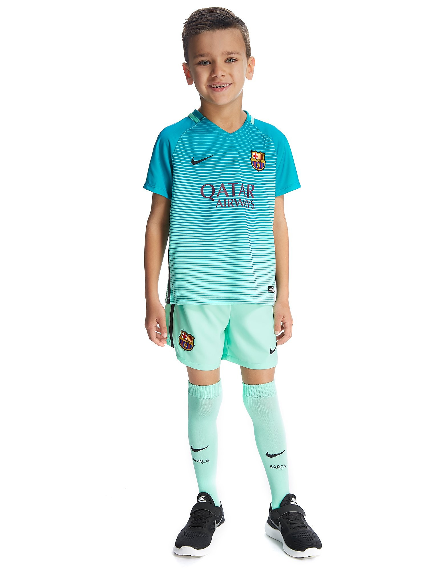 Nike FC Barcelona 2016/17 Third Kit Children