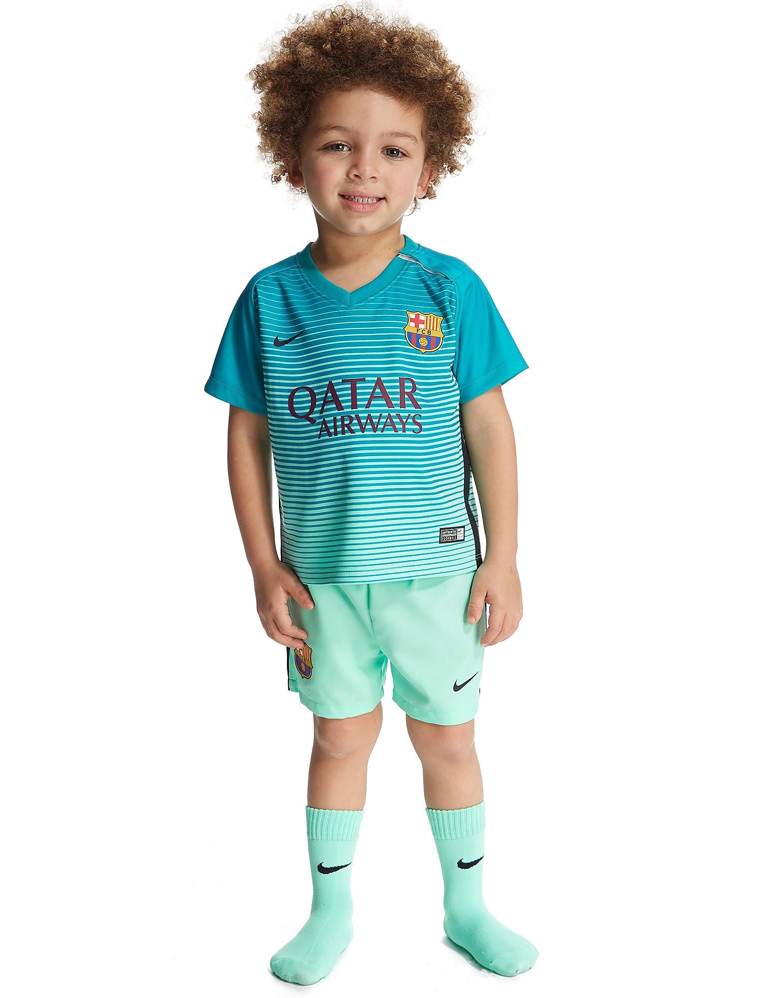 Nike FC Barcelona 2016/17 Third sæt til småbørn