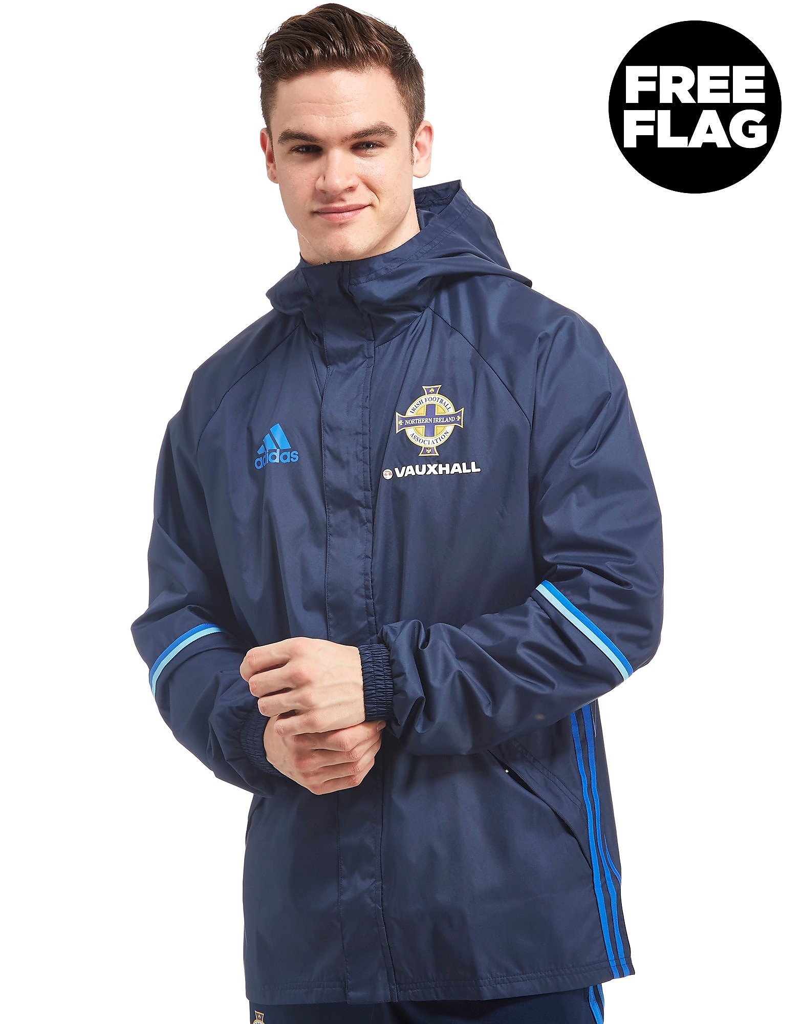adidas Northern Ireland 2016/17 Rain Jacket
