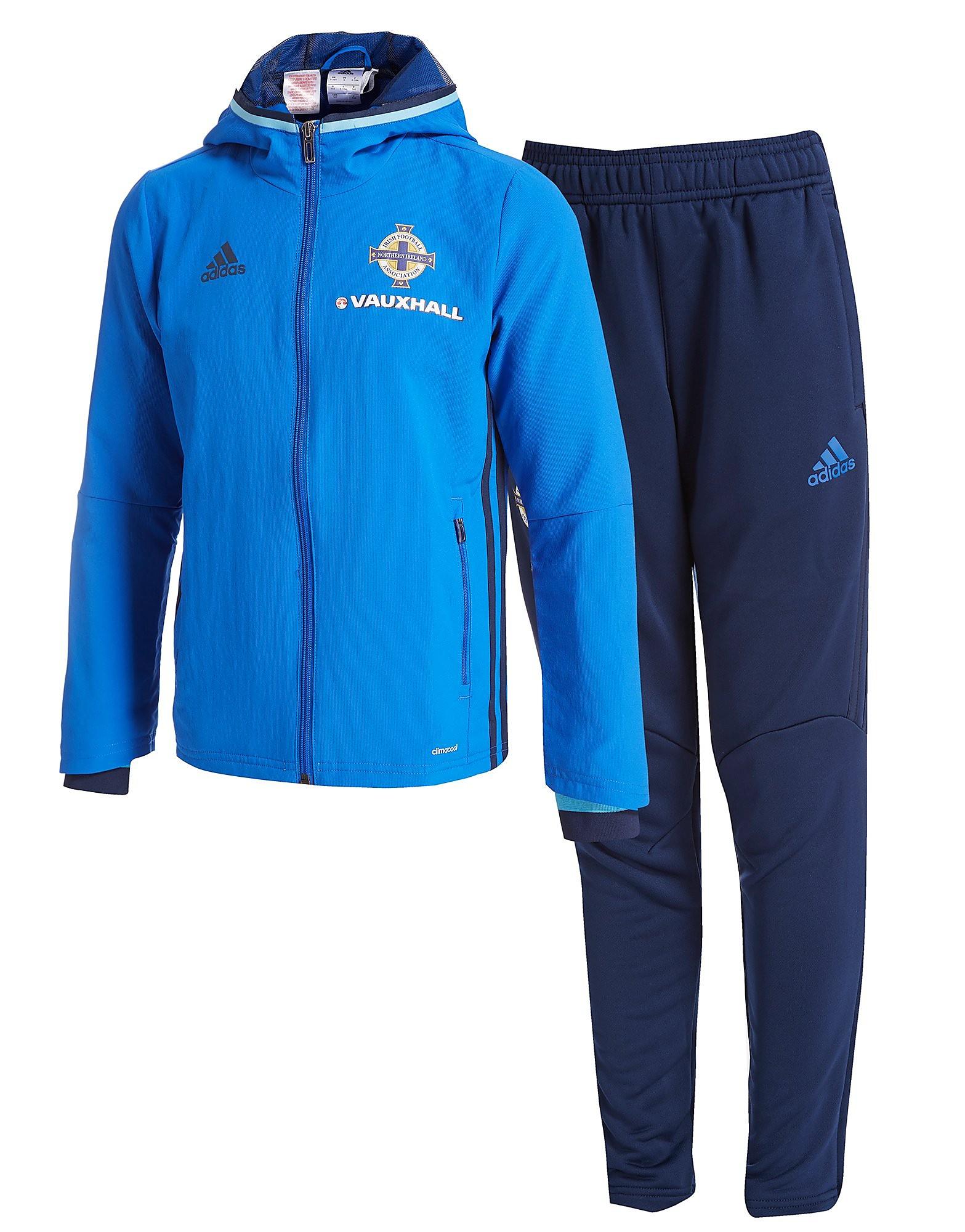 adidas Northern Ireland 2016/17 Presentation Suit Junior