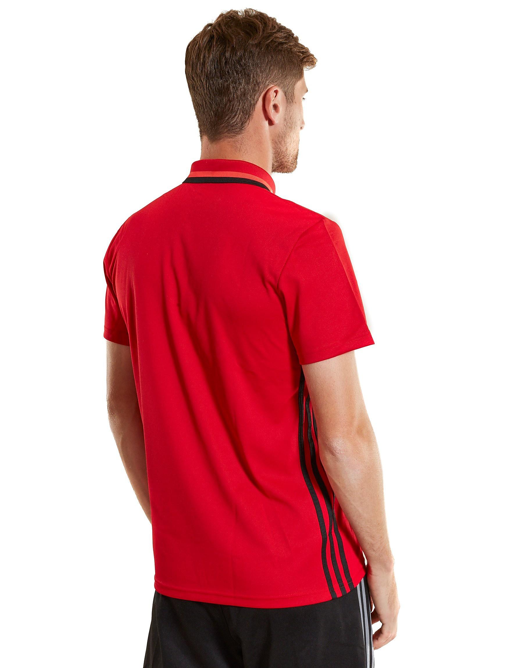 adidas Wales 2016/17 Climalite Polo Shirt