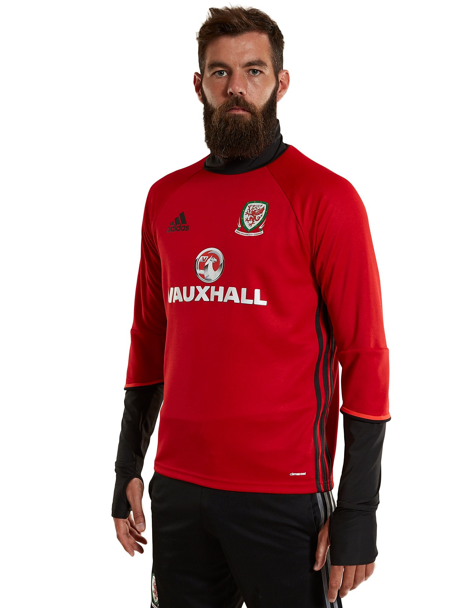 adidas Wales 2016/17-trainingsshirt