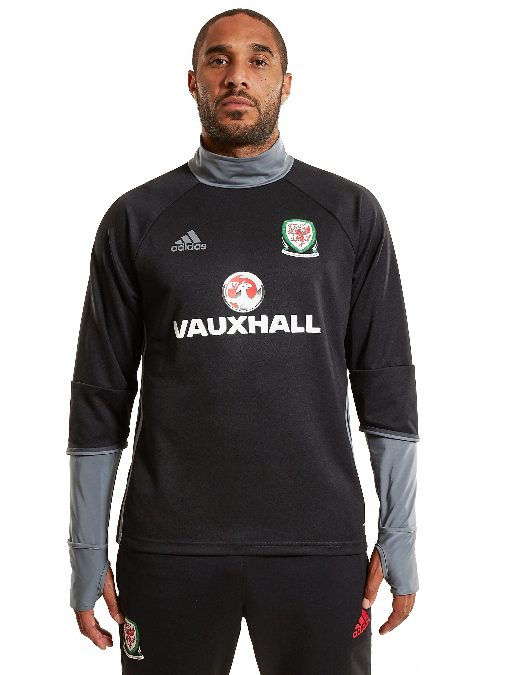 adidas Wales 2016/17-training-top