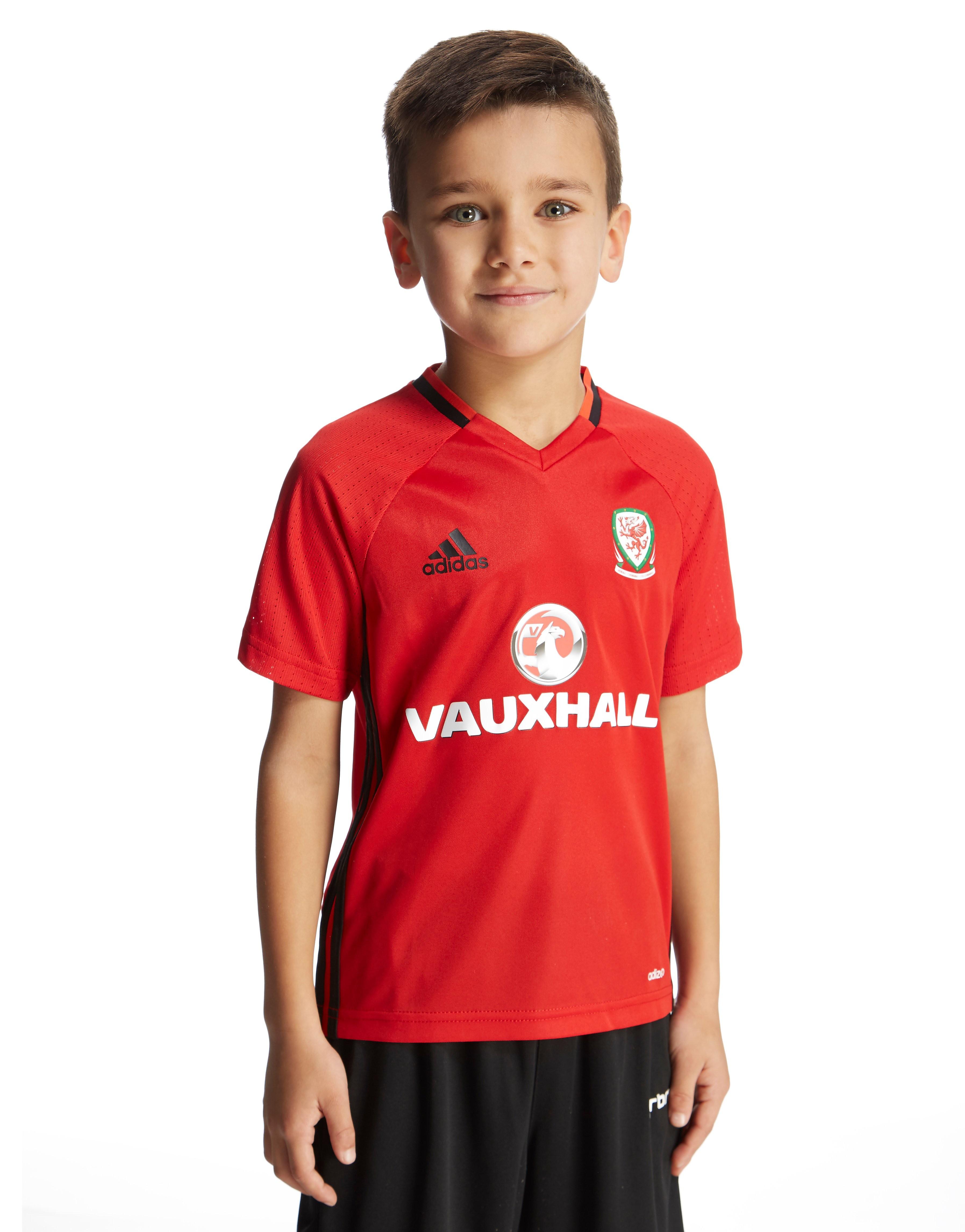adidas Wales 2016/17 Training Jersey Junior